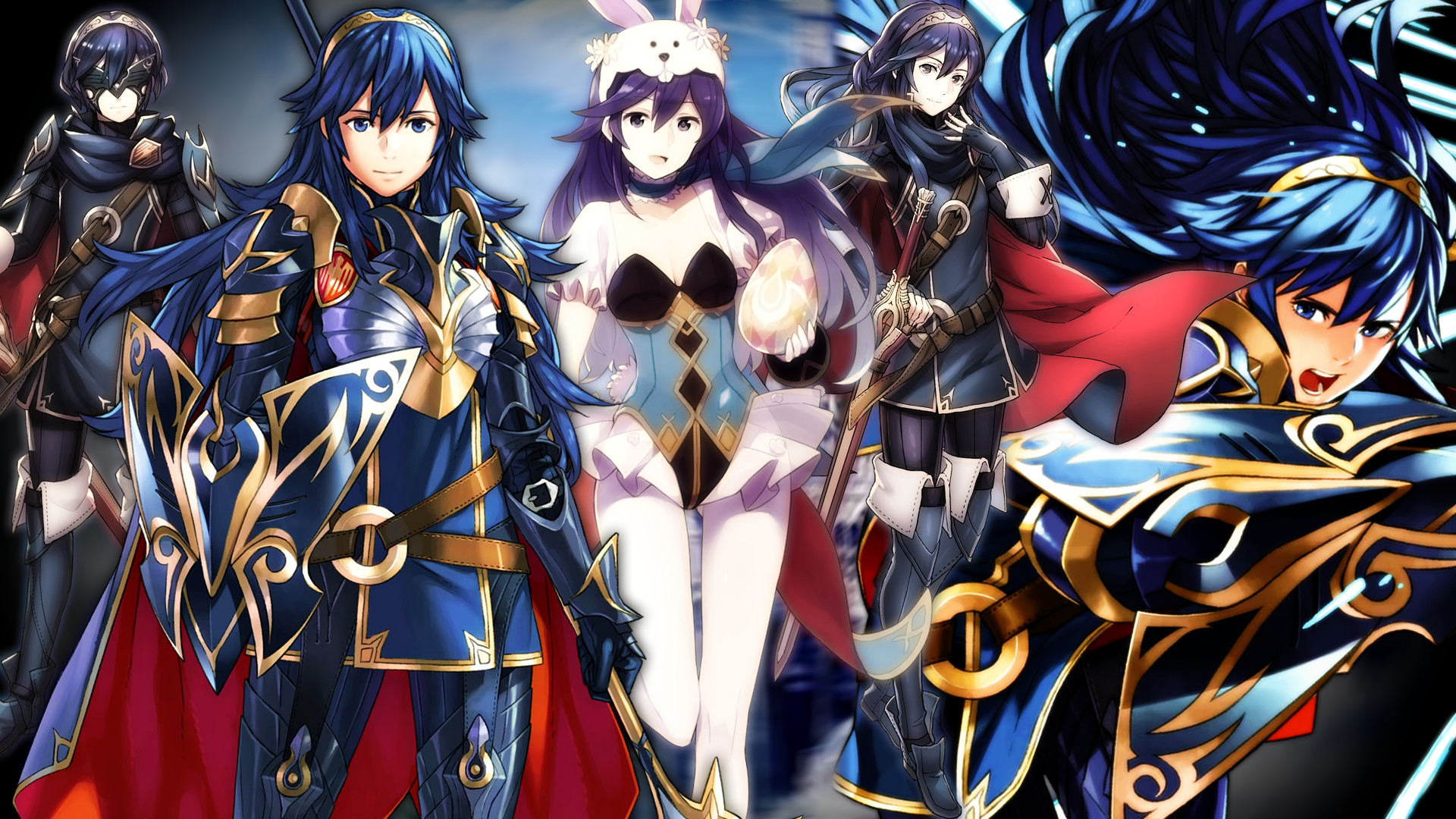 1920x1080 ... Fire Emblem Heroes - Brave Heroes Lucina Wallpaper by AuroraMaster