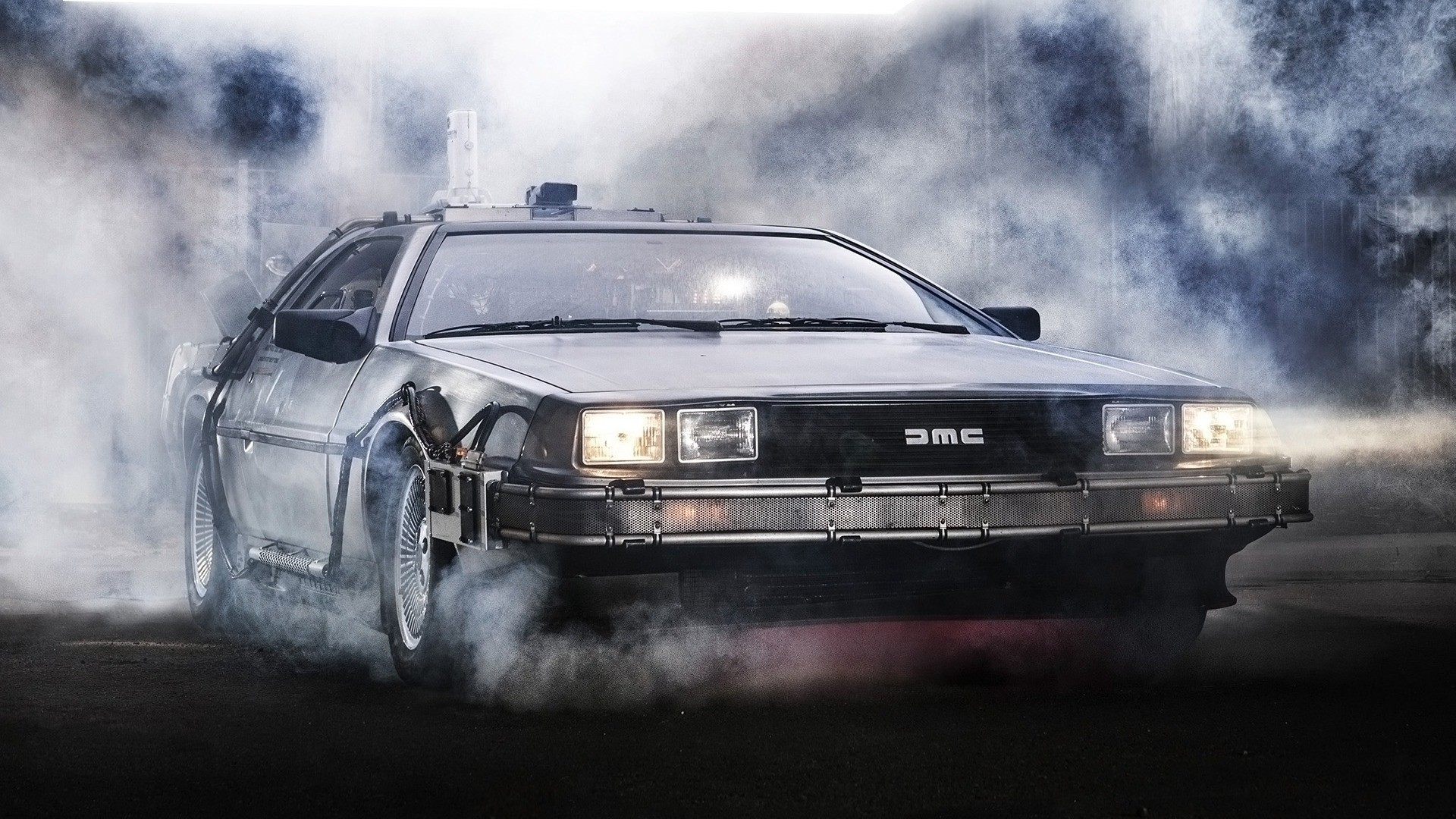 1920x1080 Back To The Future, DeLorean, Artwork, Movies, Car Wallpapers HD / Desktop  and Mobile Backgrounds