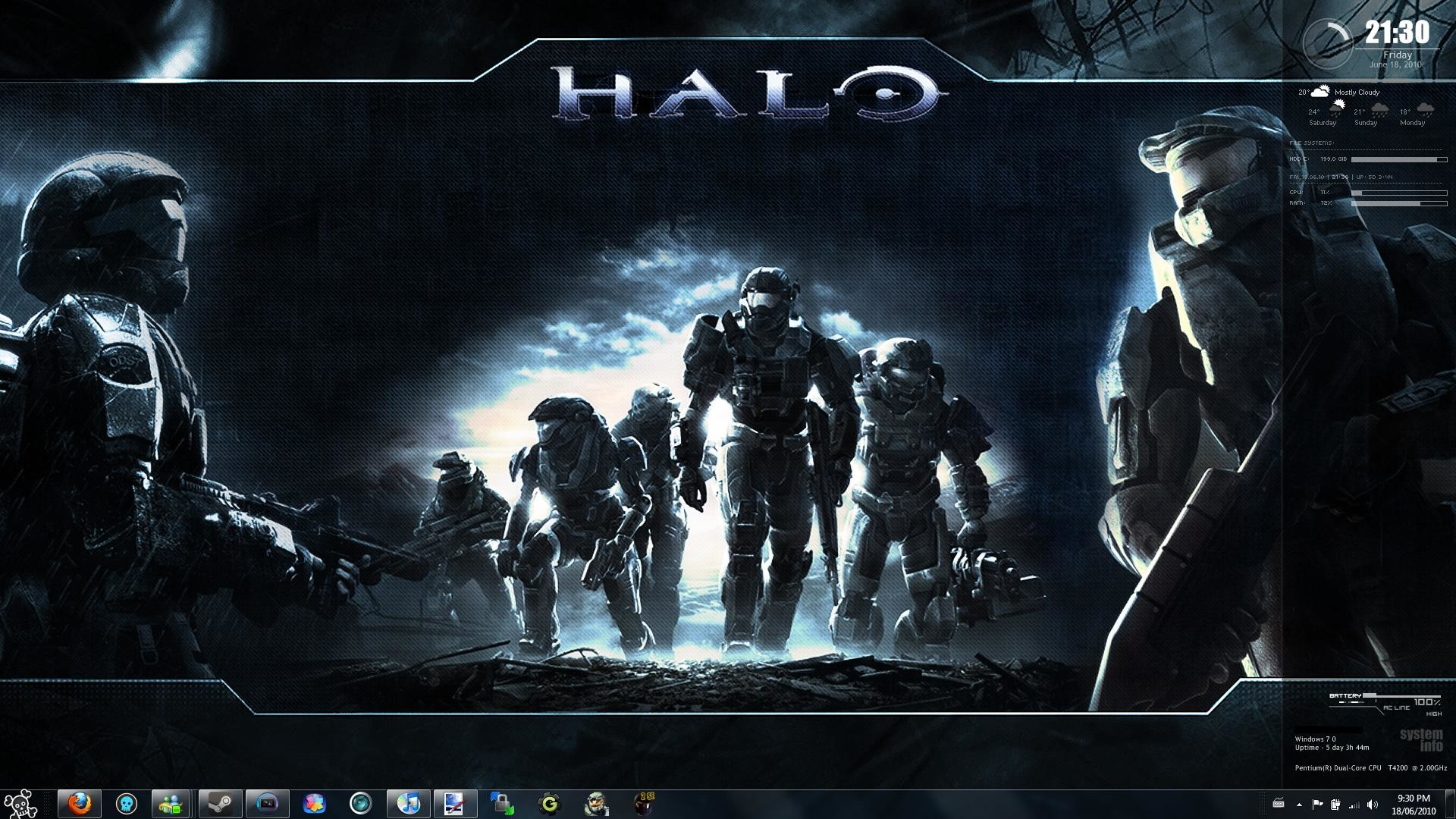1920x1080 Awesome Halo Wallpapers - Wallpaper Cave