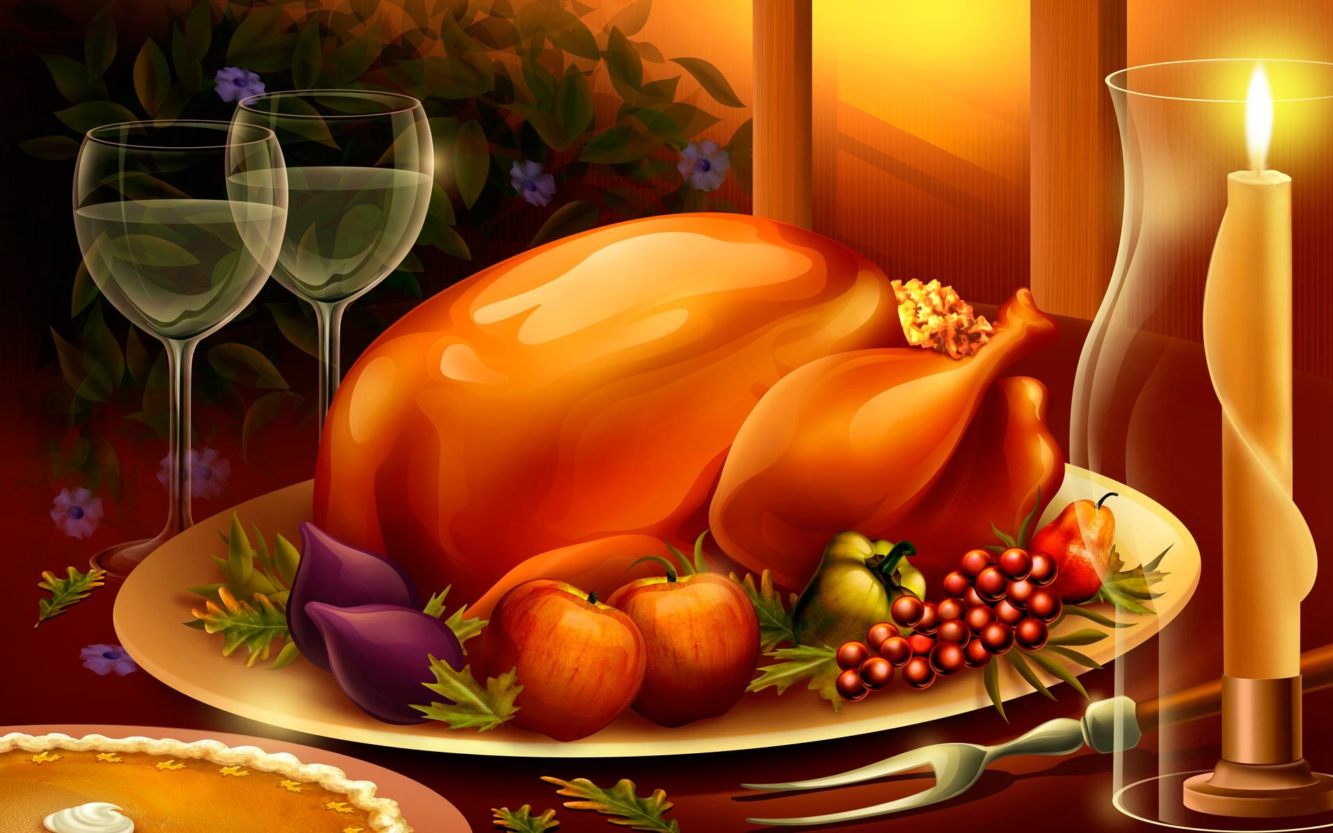 1920x1200 thanksgiving free desktop backgrounds for winter