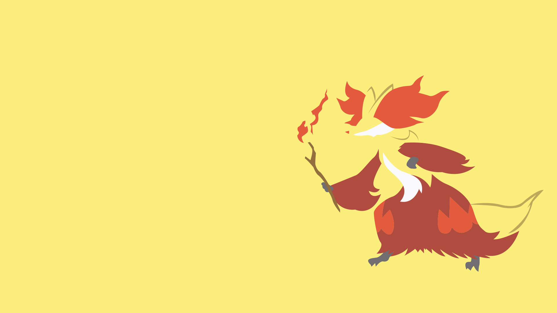 1920x1080 Delphox Wallpaper 47930