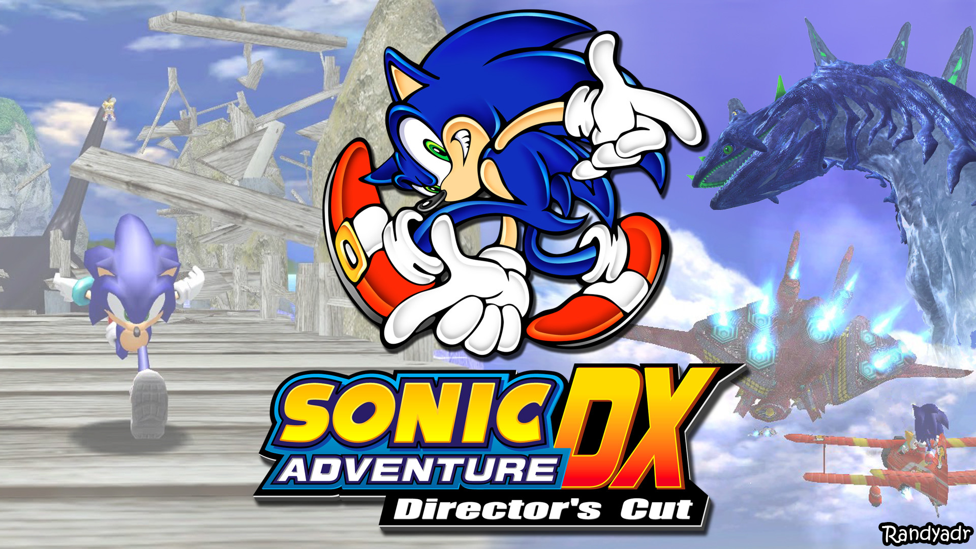 1920x1080 Sonic Adventure Wallpaper Attempt by randyadr Sonic Adventure Wallpaper  Attempt by randyadr