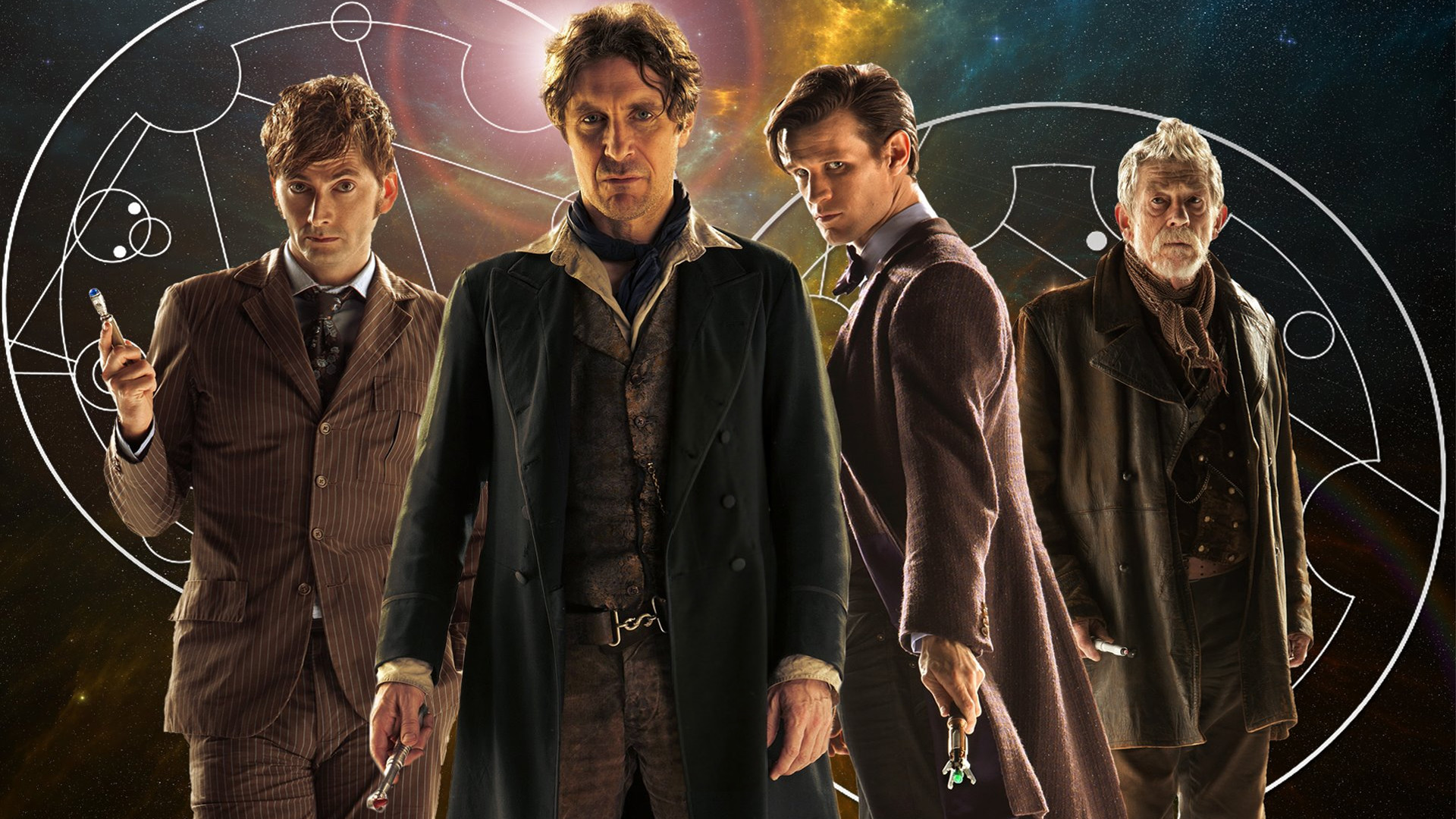 1920x1080 The Four Doctors