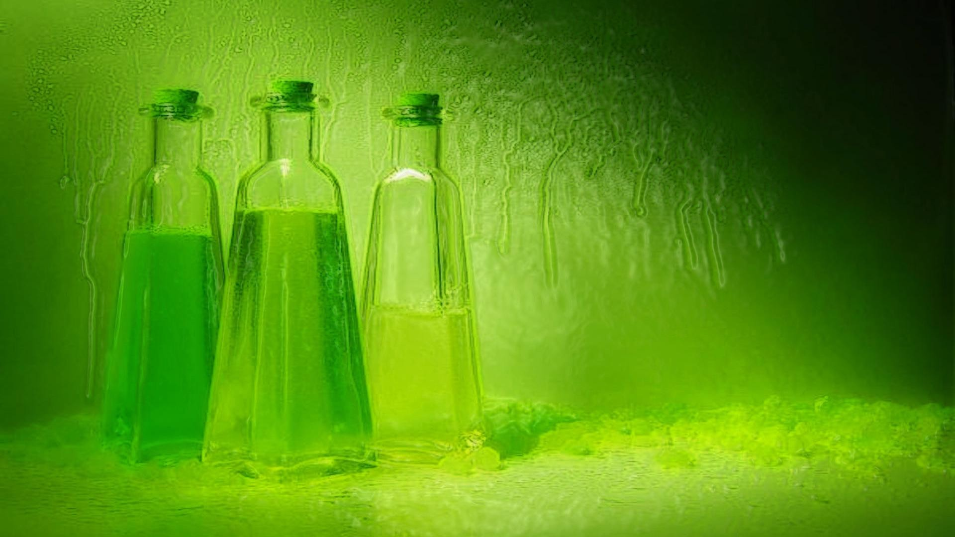 1920x1080  hd Green and relaxed bottle design desktop pictures wide  wallpapers:1280x800,1440x900,