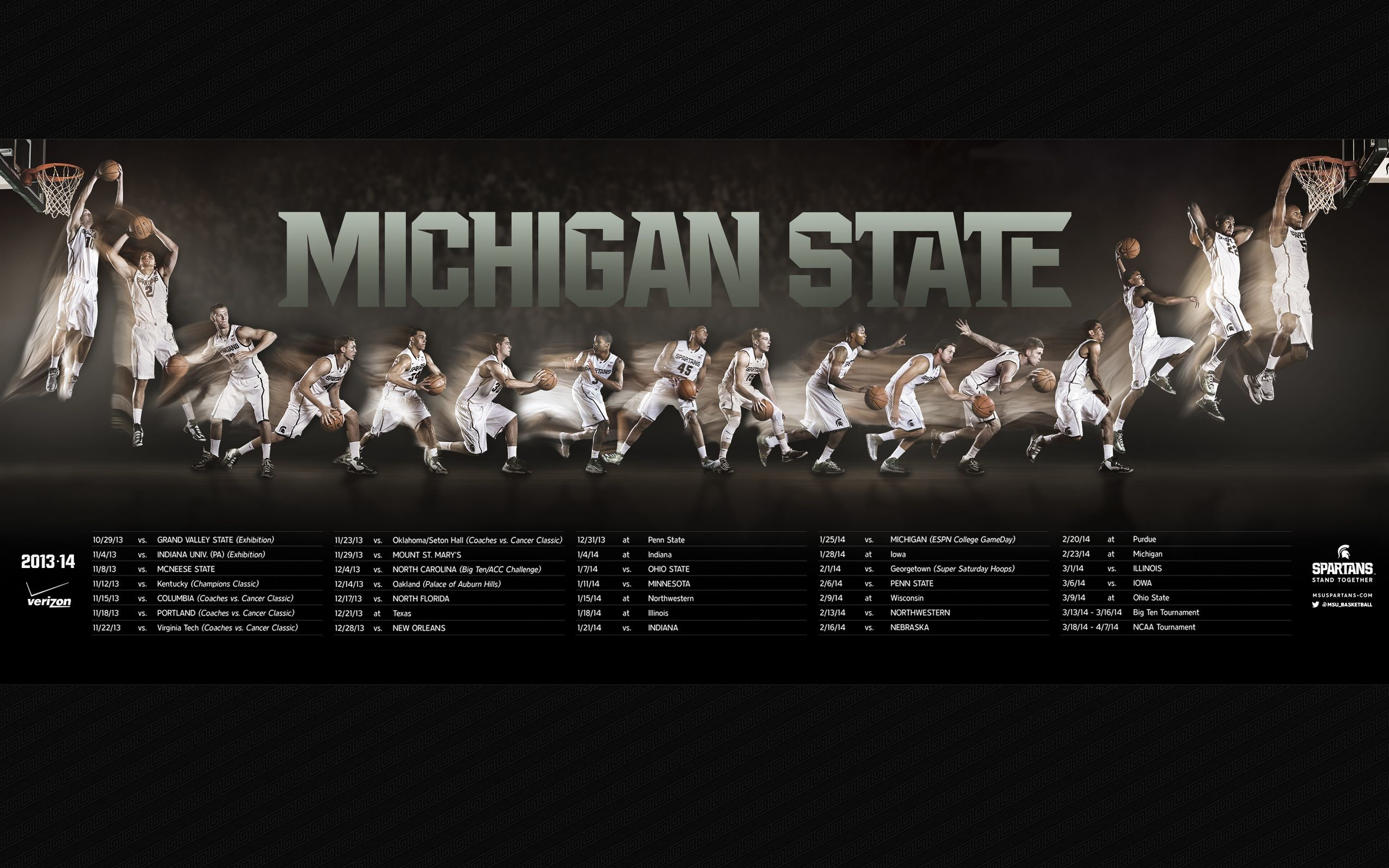 "2560x1600 Search Results for ""michigan state basketball schedule wallpaper"" –  Adorable Wallpapers"