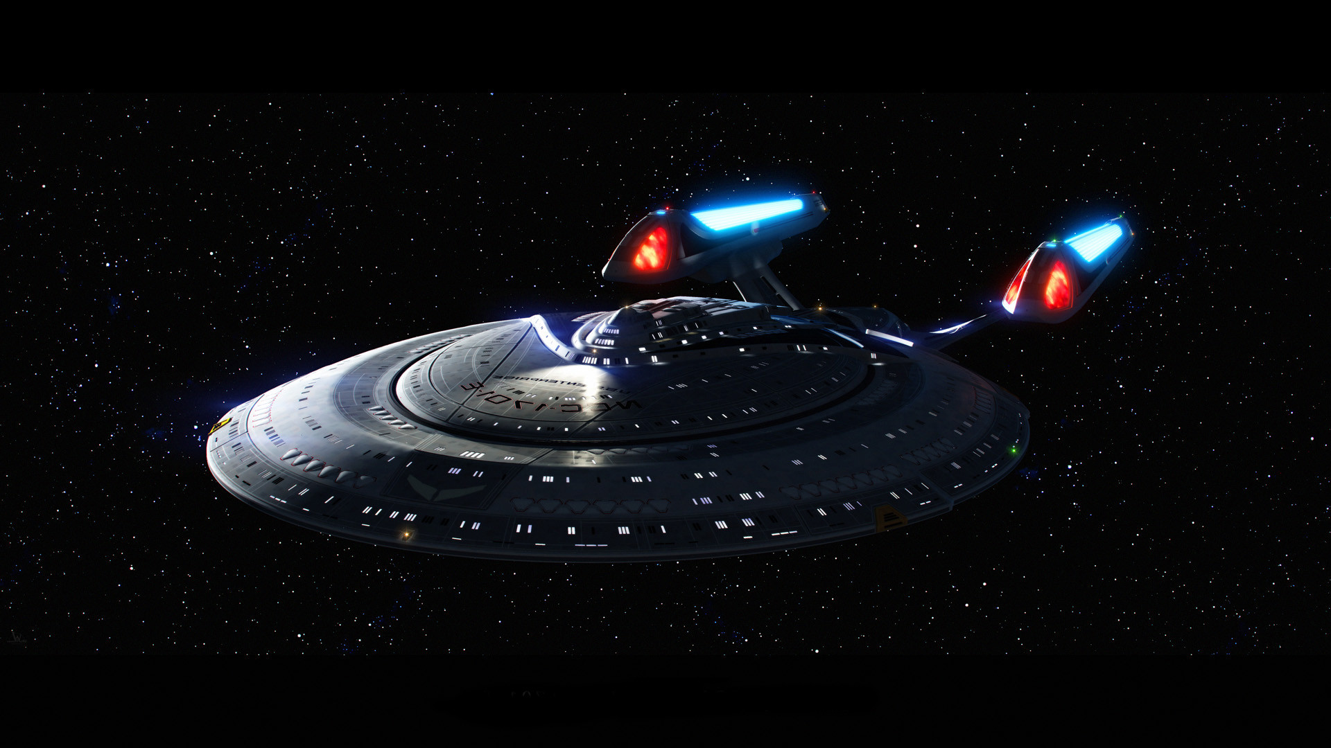1920x1080 USS Enterprise In Space Star Trek HD Wallpapers