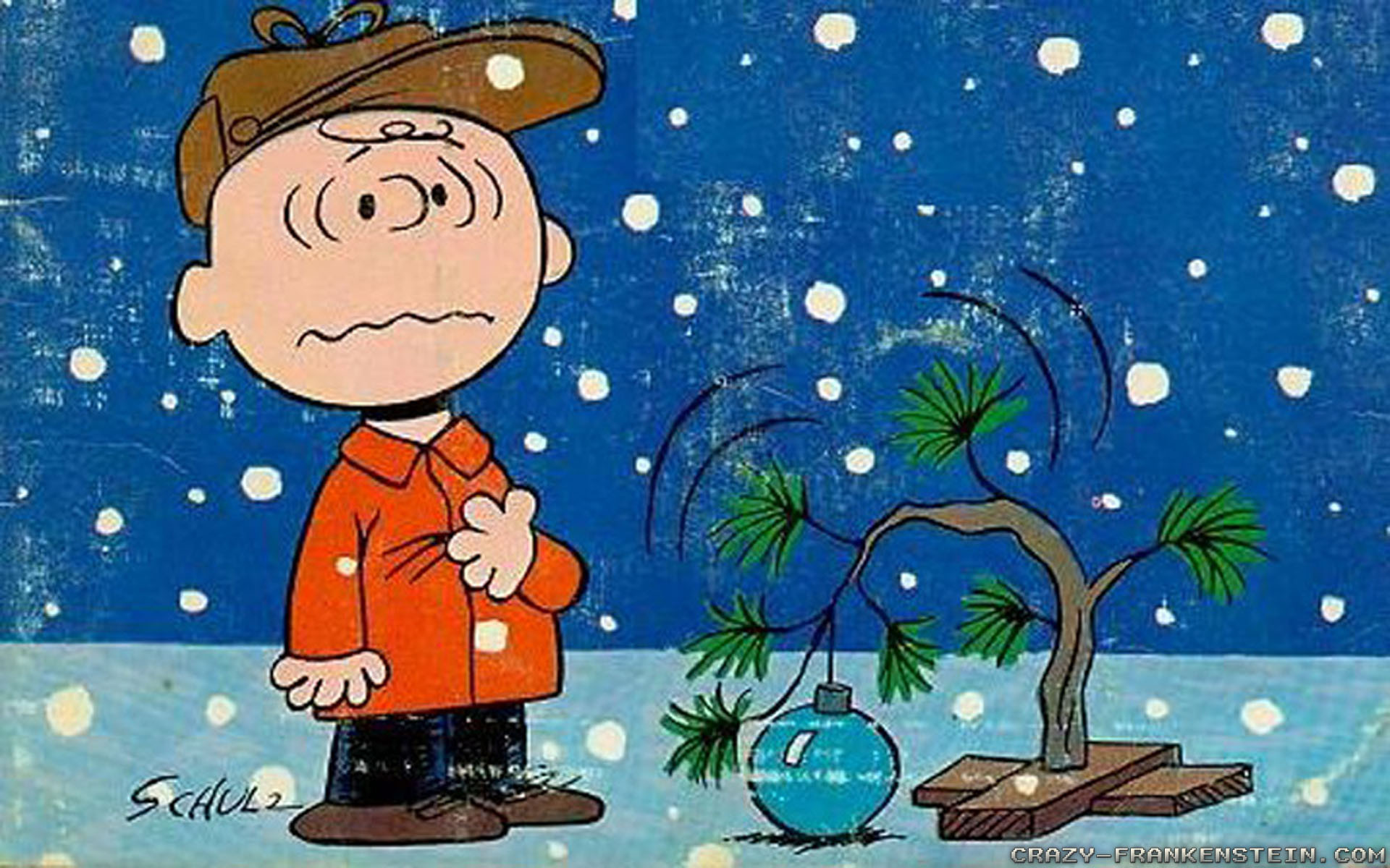 Charlie Brown Christmas Tree Wallpaper 50 images