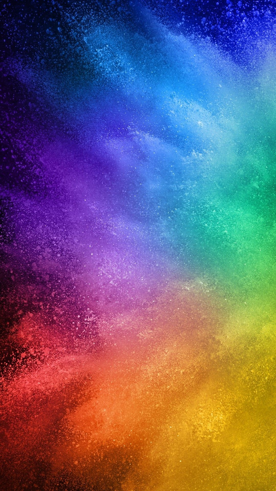 1080x1920 1125x2436 Rainbow color digital abstract pattern 2 iPhone 8 Wallpaper