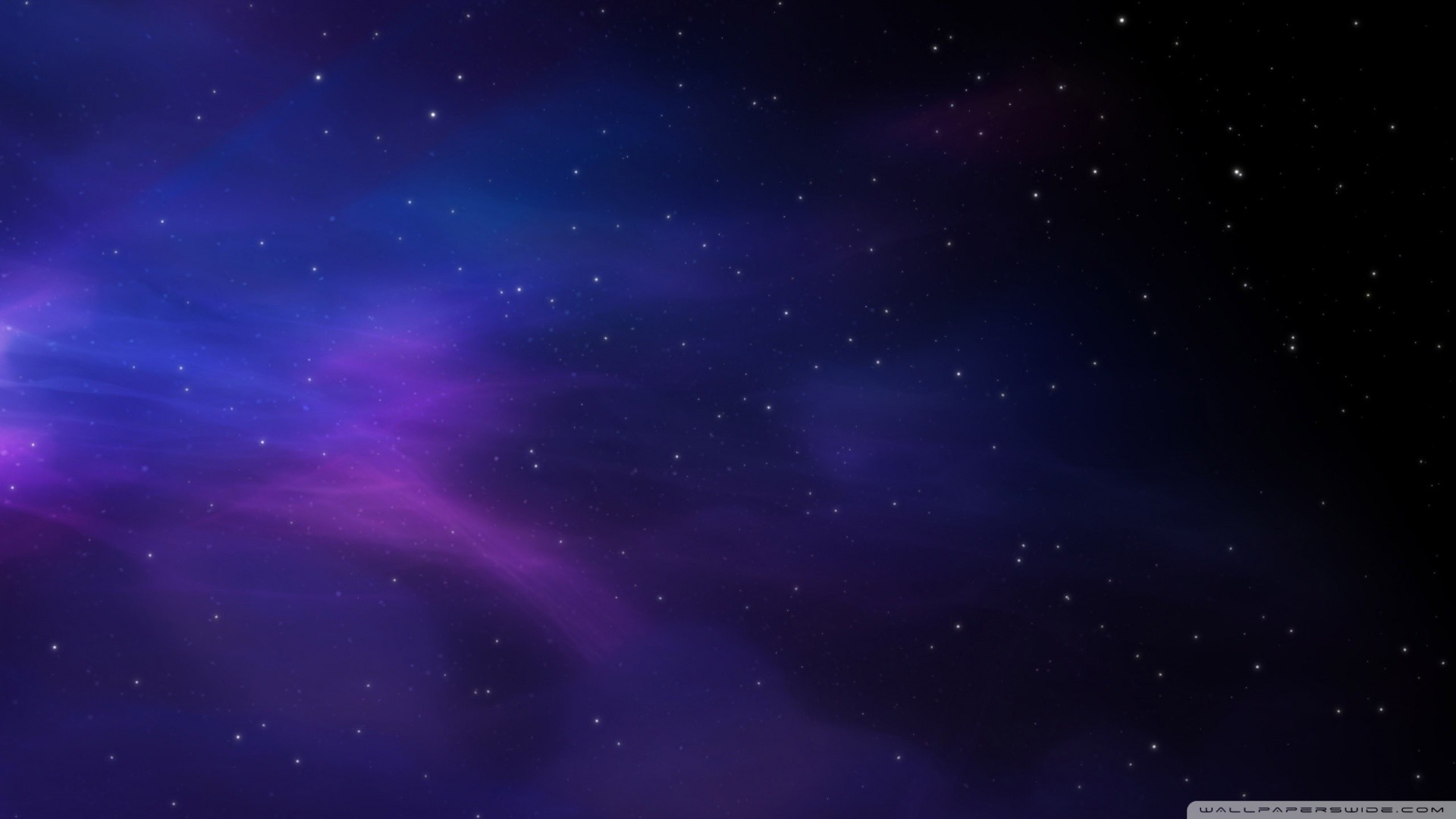 1920x1080 Blue Star In Space Wal.