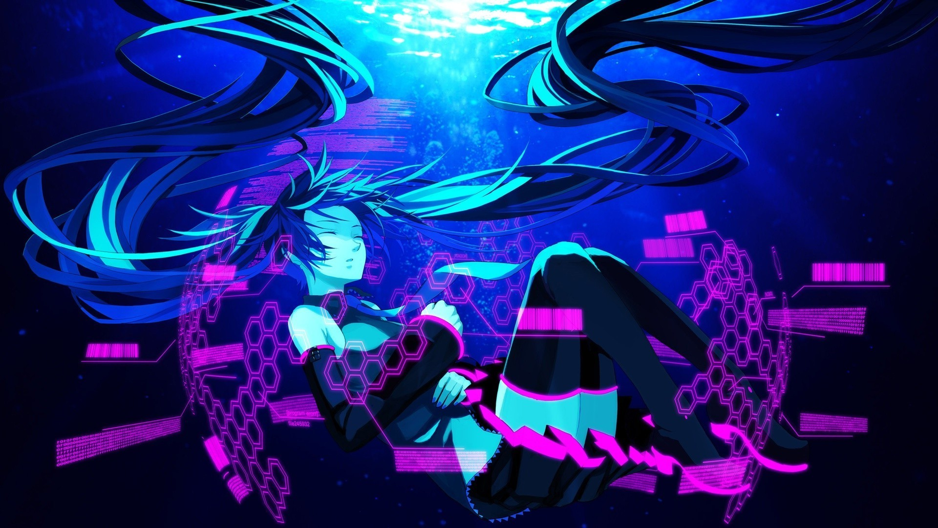 1920x1080 anime, Vocaloid, Hatsune Miku Wallpapers HD / Desktop and Mobile Backgrounds