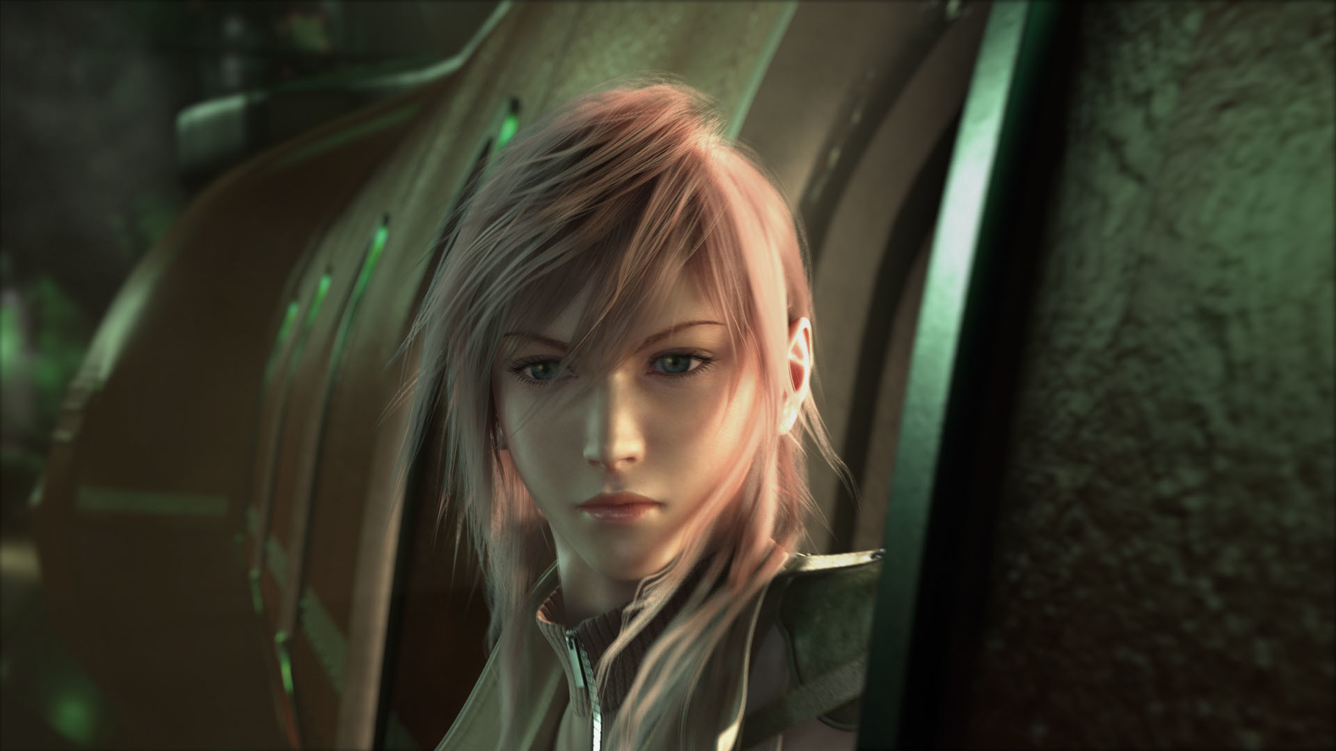1920x1080 previous final fantasy 13 wallpaper. Lightning Looking Out The Train