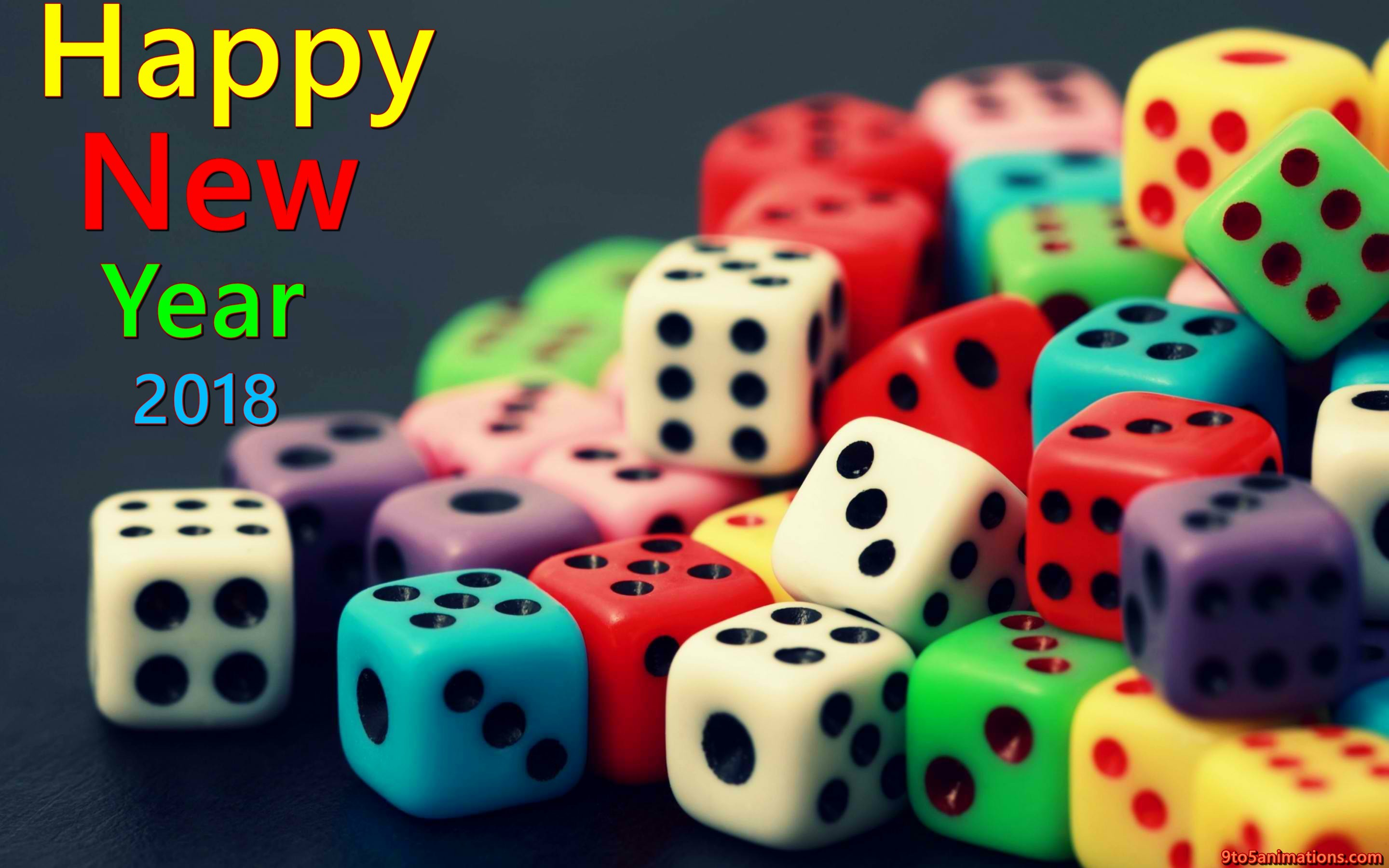 1920x1080 happy new year wishes with blue backgrounds hd wallpapers free download