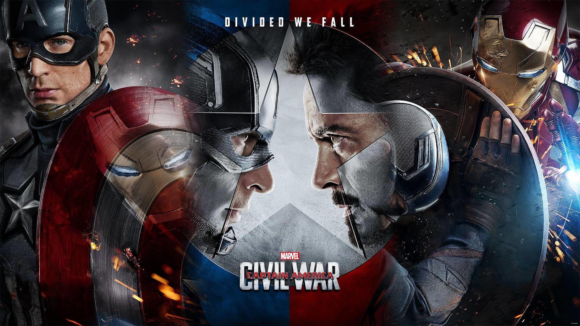 Captain America Civil War 1080p Wallpapers 72 Images