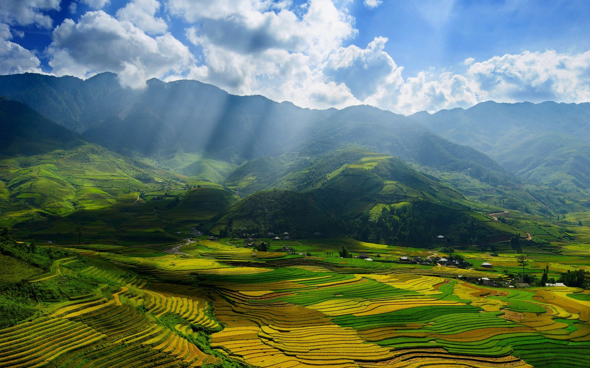 1920x1200 Daily Wallpaper: Mu Cang Chai District, Vietnam | I Like To Waste My Time