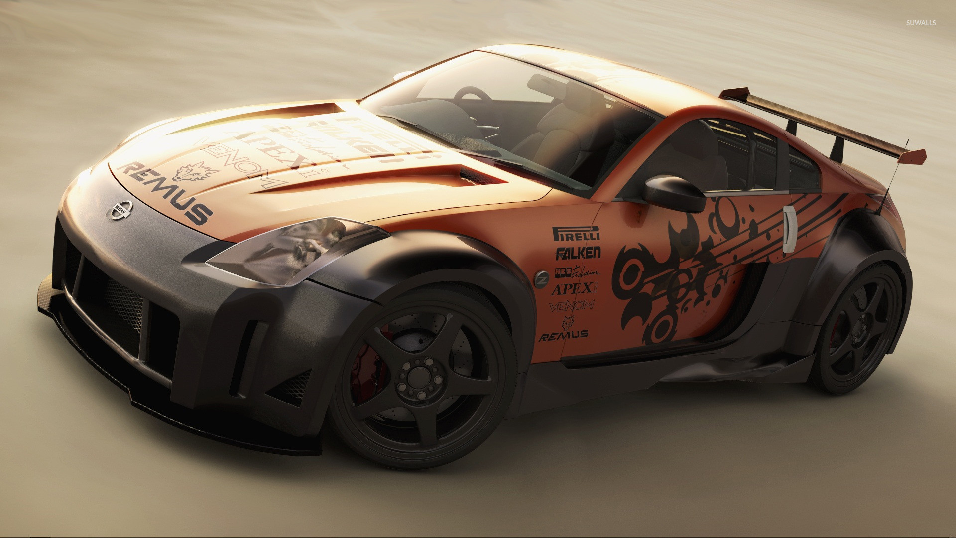 1920x1080 Tuned Nissan 350Z wallpaper