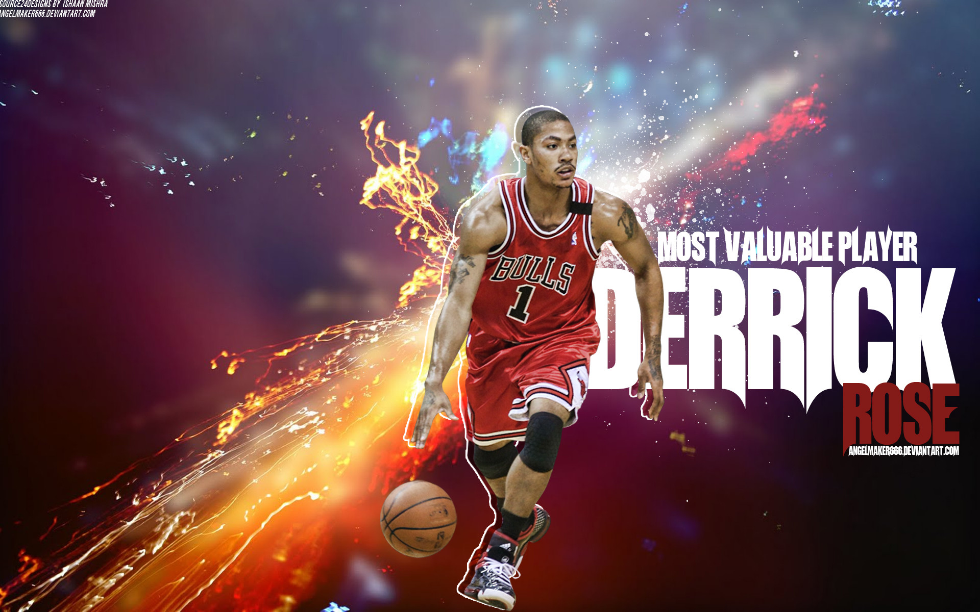 e8b6ddda79e9 1920x1200 Derrick Rose MVP Wallpaper by IshaanMishra Derrick Rose MVP  Wallpaper by IshaanMishra