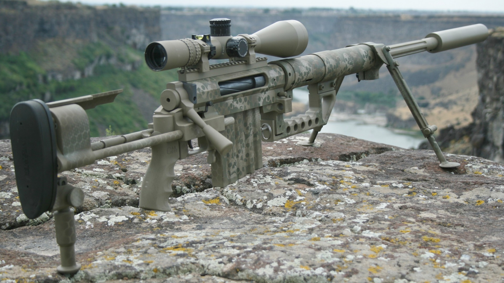 1920x1080 Dragunov Sniper Rifle Wallpaper
