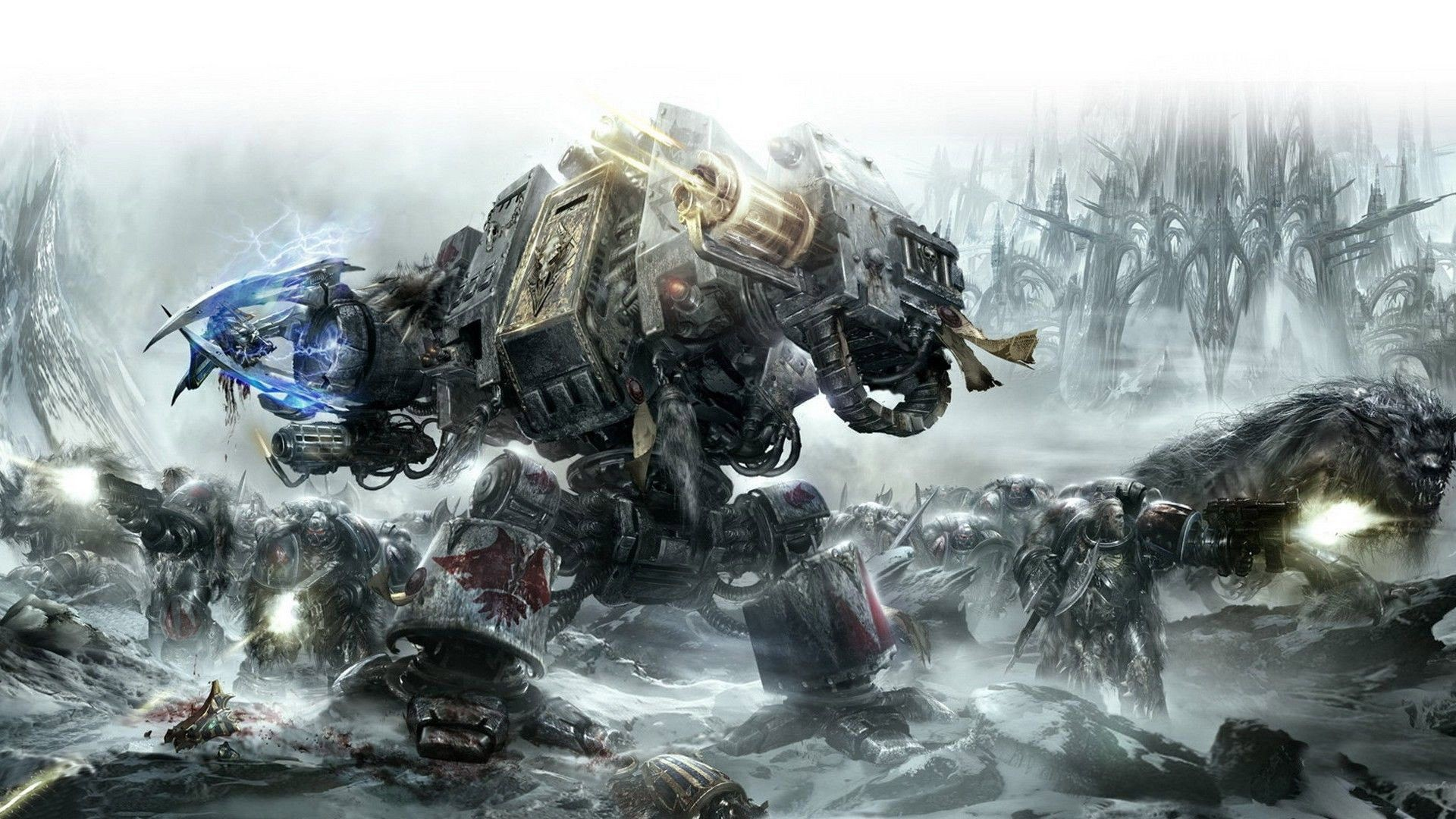 1920x1080 Warhammer 40k on Pinterest | Space Marine, Space Wolves and Warhammer .