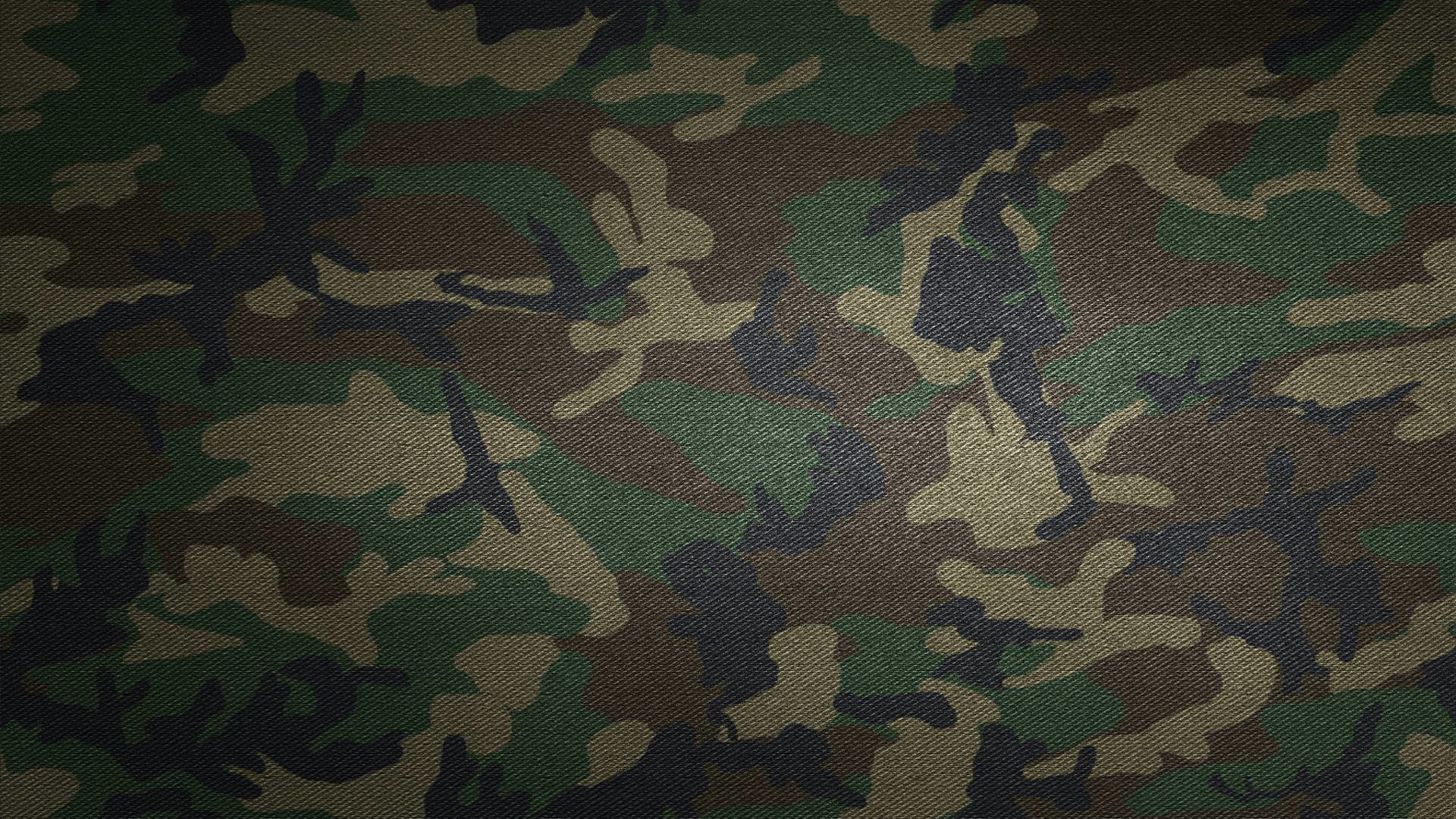 Orange digital camouflage