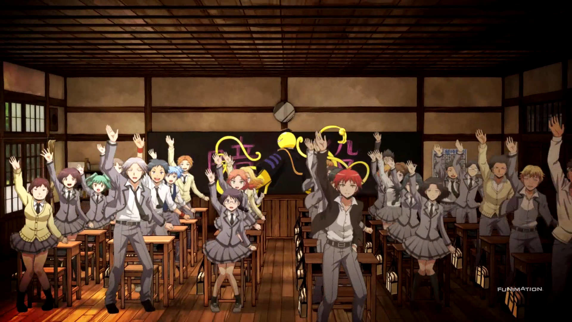 1920x1080 Assassination Classroom: le Manga sort en Anime et en Film Live