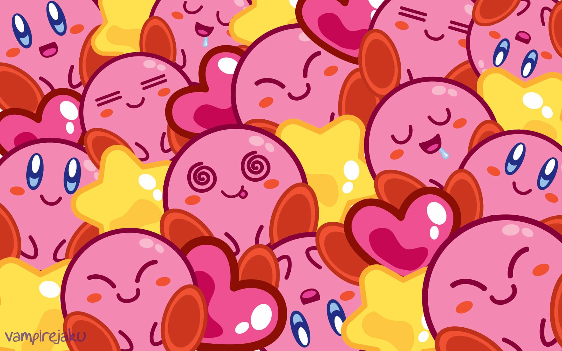 1920x1200 Creative Kirby Wallpaper