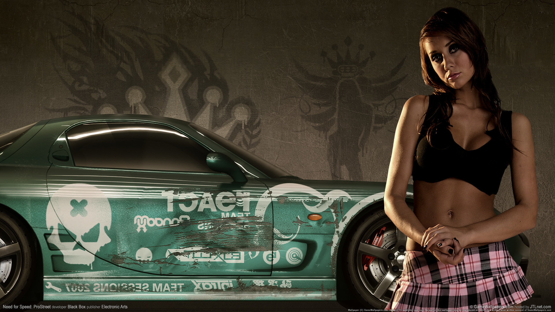 1920x1080 need for speed prostreet girls 2 HD