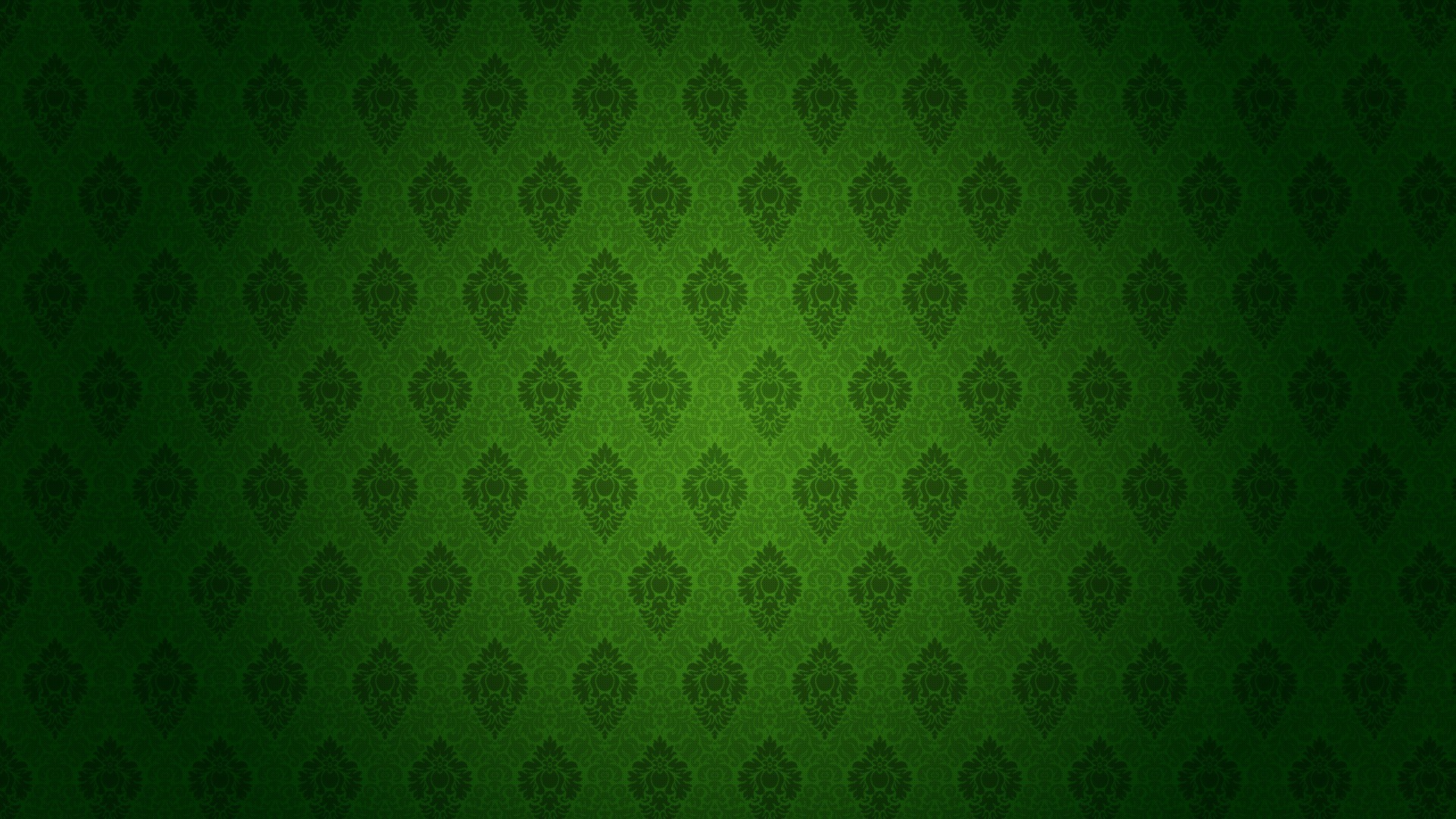 1920x1080 dark green pattern background