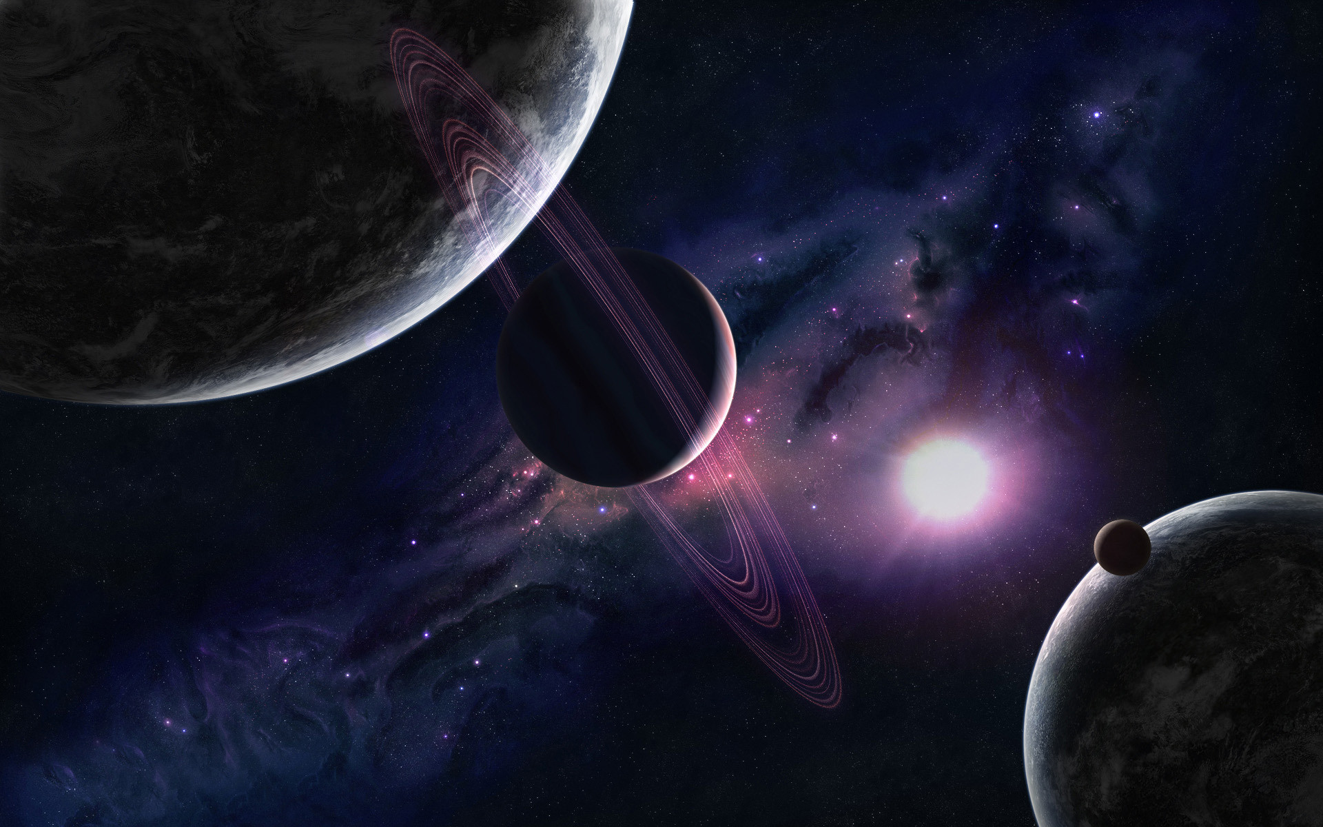 1920x1200 Wallpapers Solar System (25 Wallpapers)