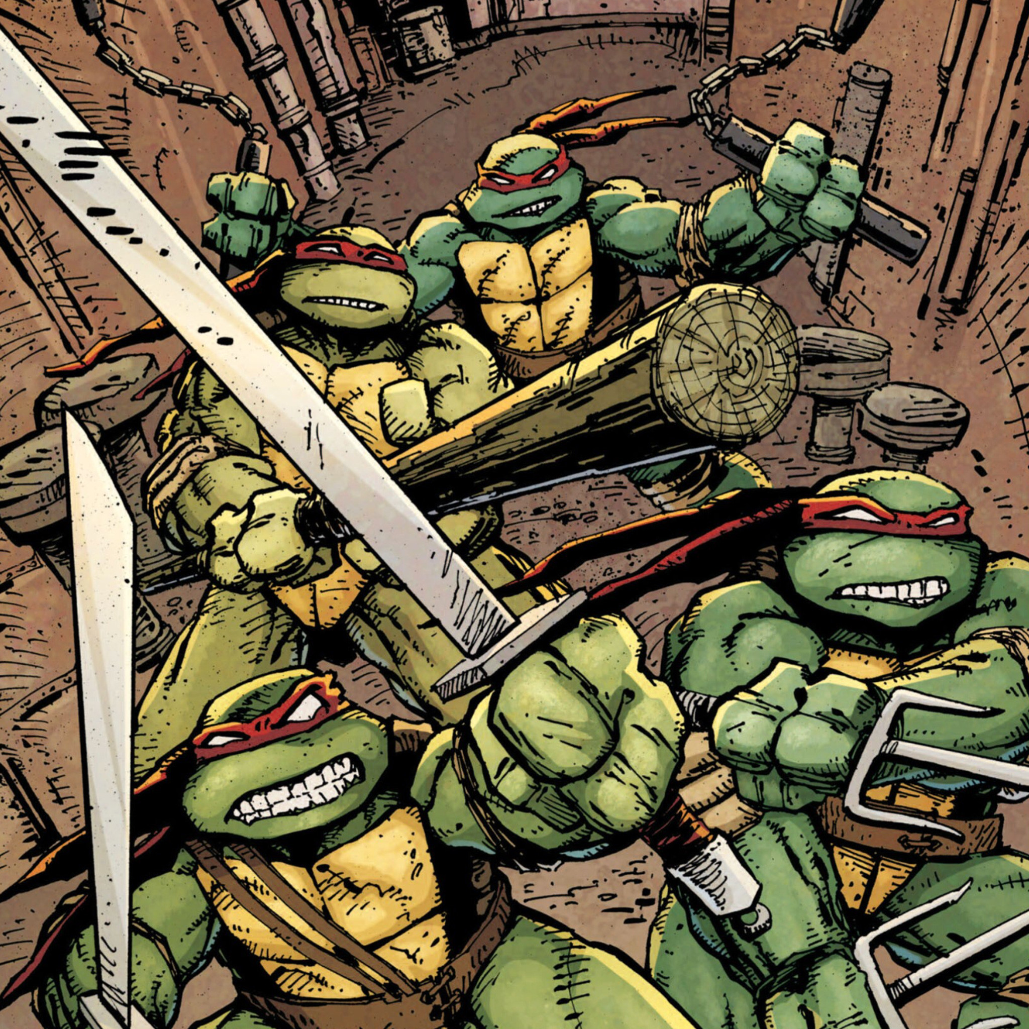 Ninja Turtles Wallpaper: Comic Book Wallpapers (75+ Images