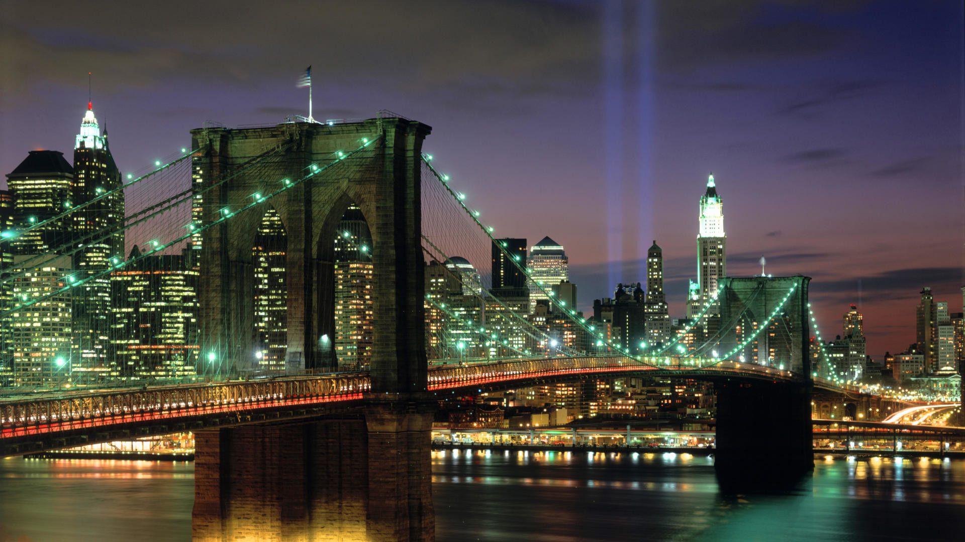1920x1080 Download Background - Tribute in Light, New York City, New York - Free Cool  Backgrounds and Wallpapers for your Desktop Or Laptop.