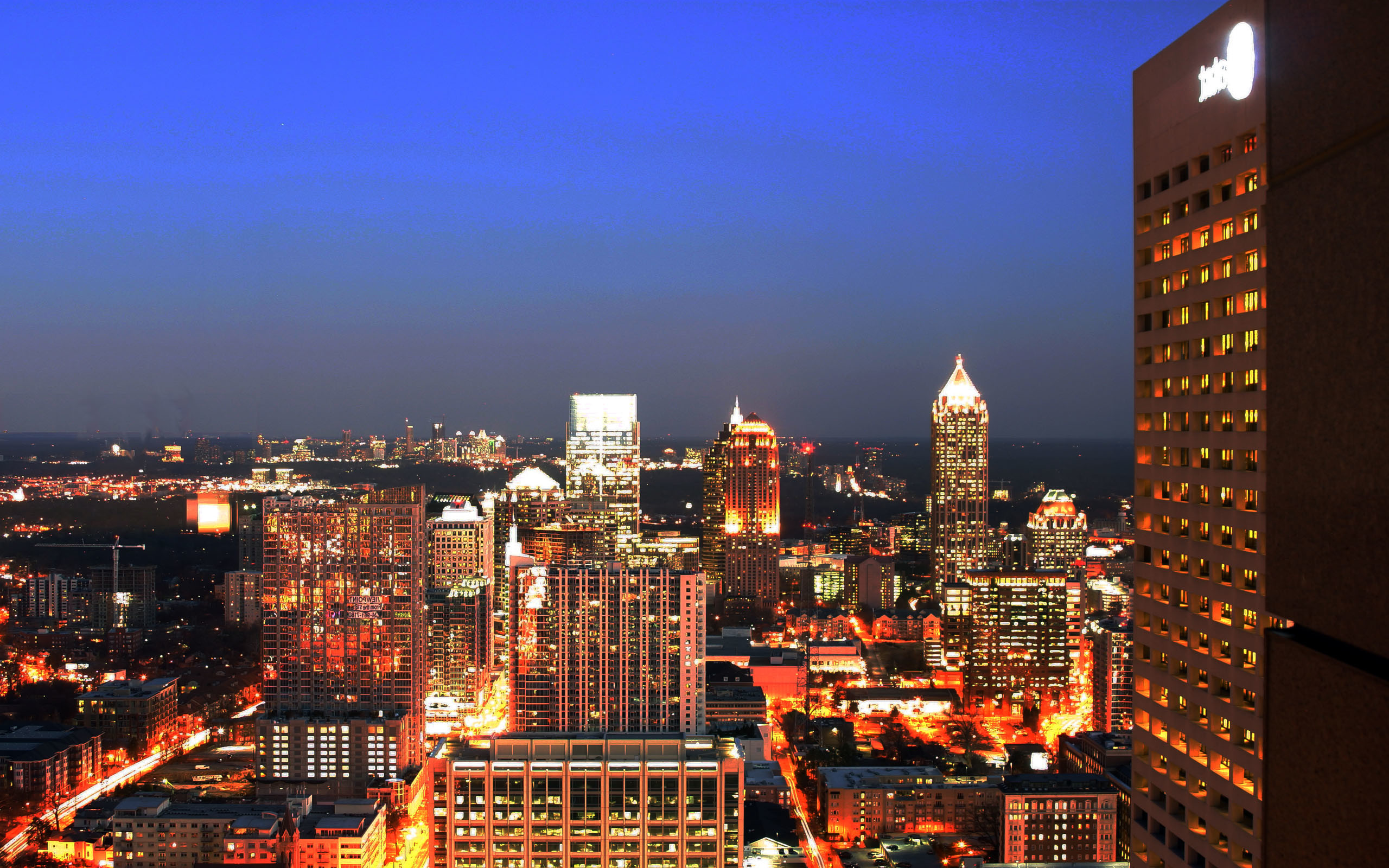 2560x1600 HD city of atlanta wallpaper HD free atlanta wallpaper