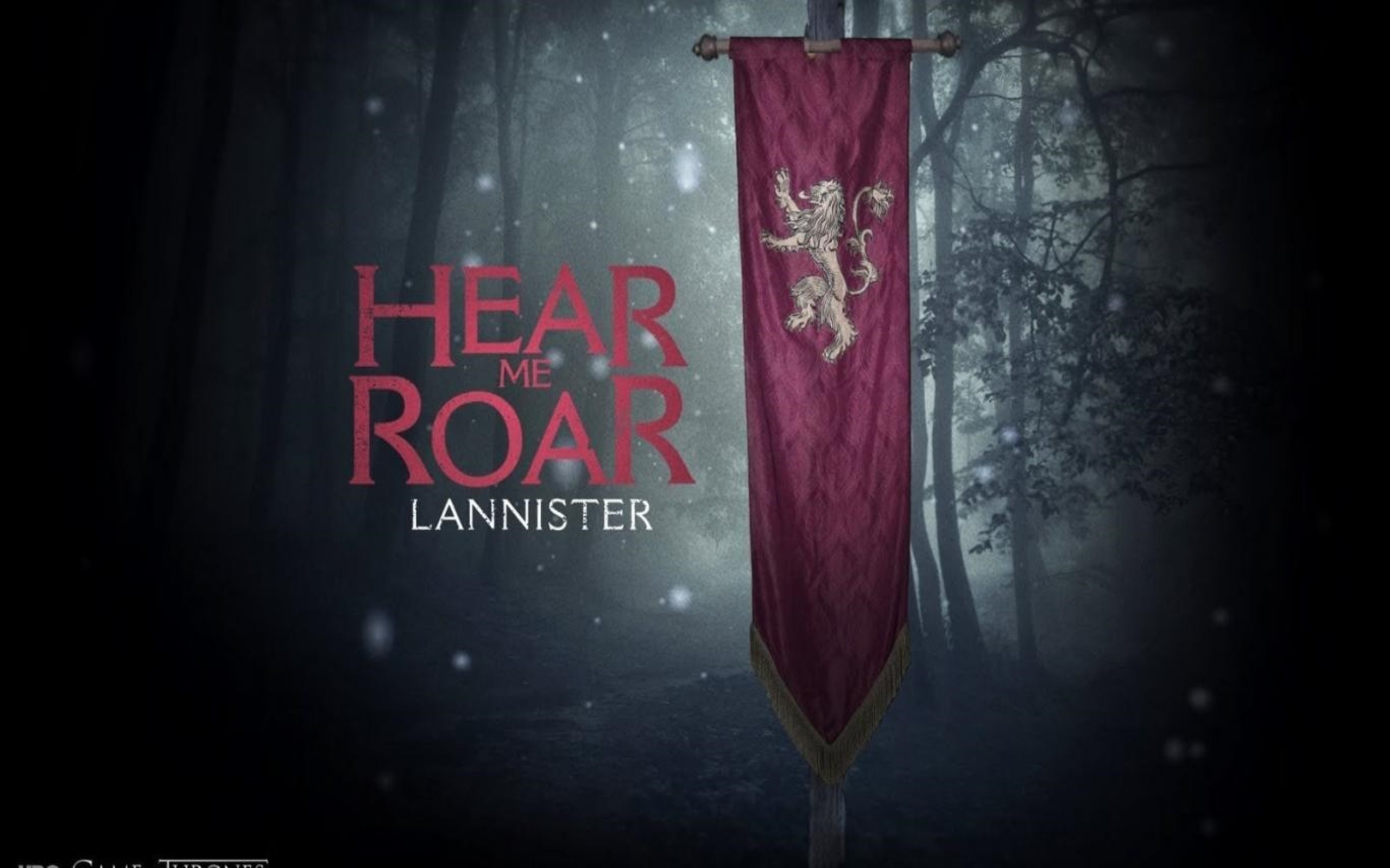 2560x1600 Game Of Thrones House Lannister