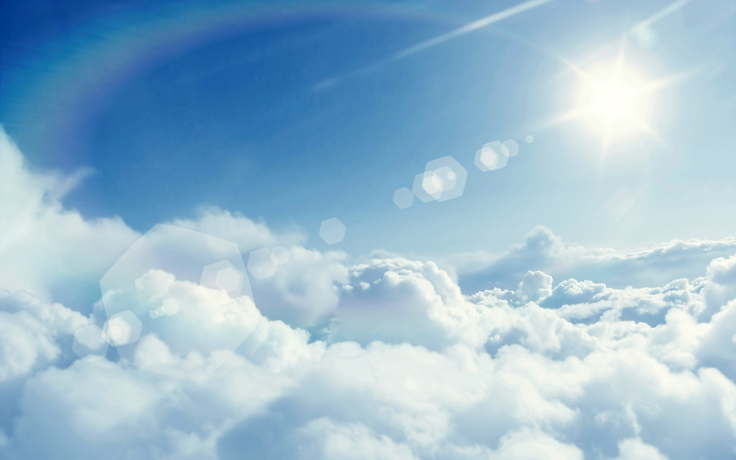blue sky and clouds wallpaper (57+ images)