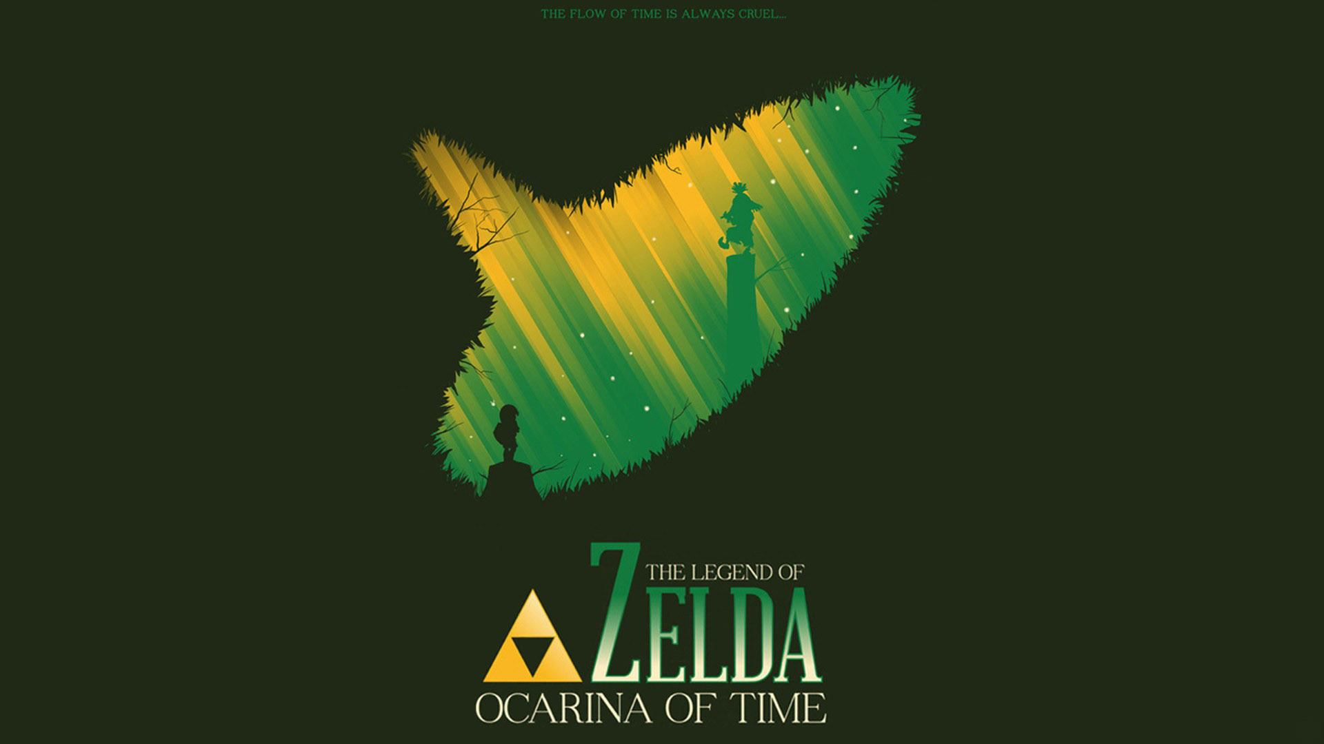 1920x1080 ... The Legend of Zelda: Ocarina of Time 3D - Fanart - Background ...