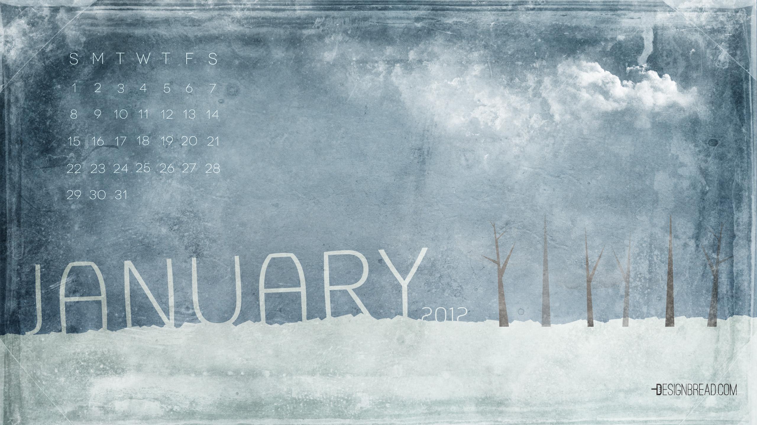 Calendar Wallpaper Jan : January desktop wallpaper images