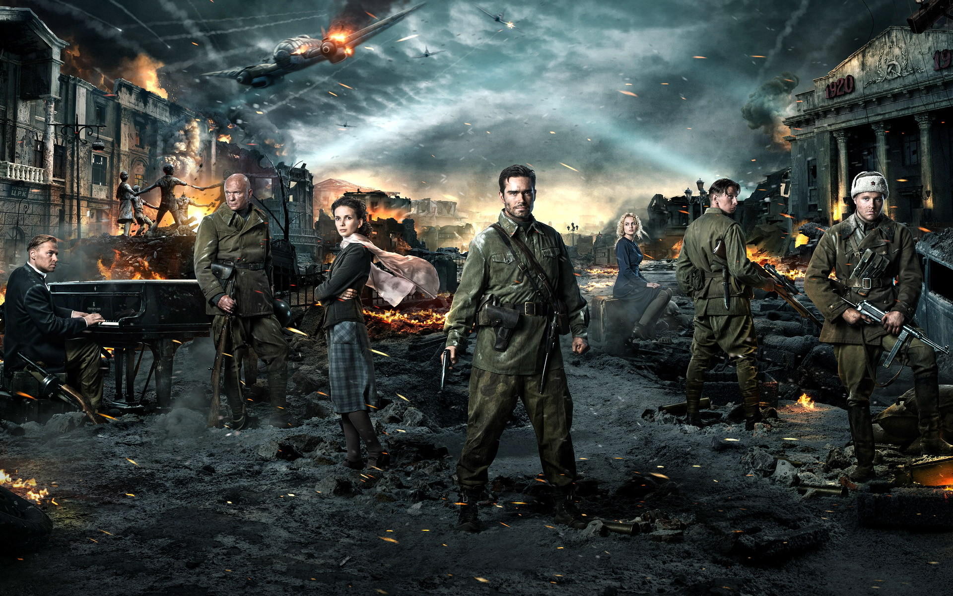 1920x1200 Stalingrad Movie HD Full Screen Wallpaper