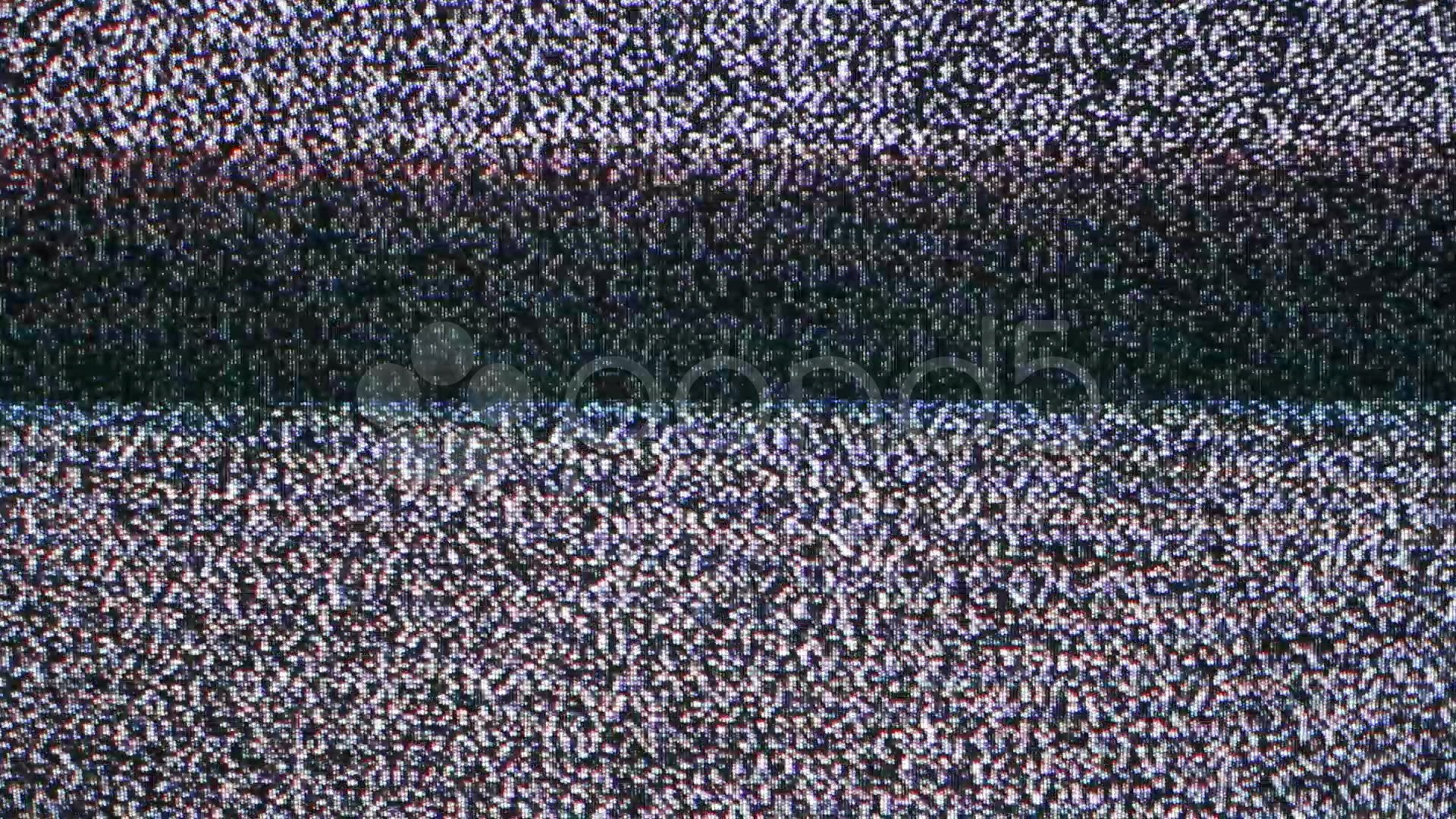 1920x1080 Blank Television Tv Screen With White Noise Or Static Snow And No Signal..  Stock Footage - YouTube