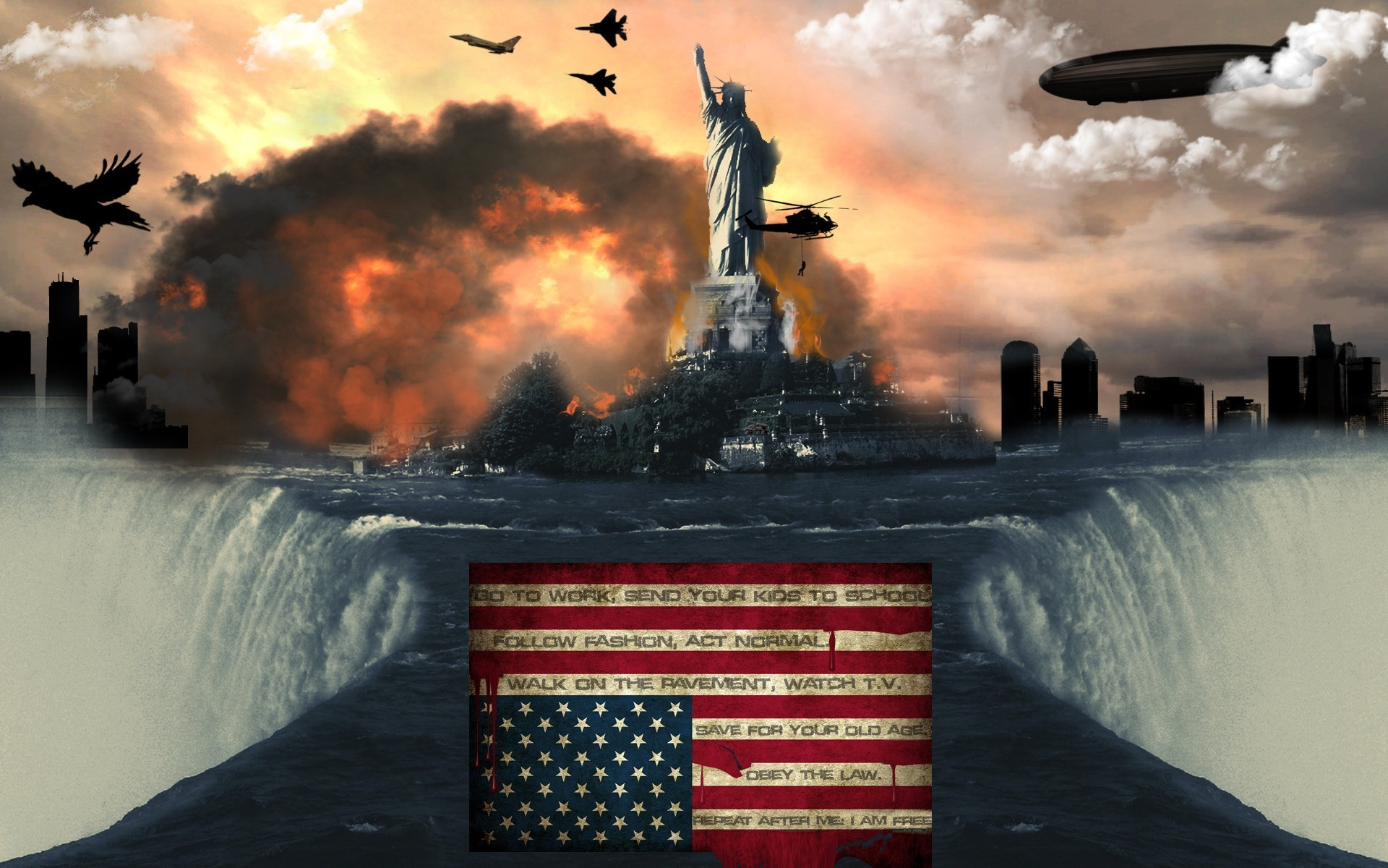 1920x1200 American Flag Wallpaper  American, Flag
