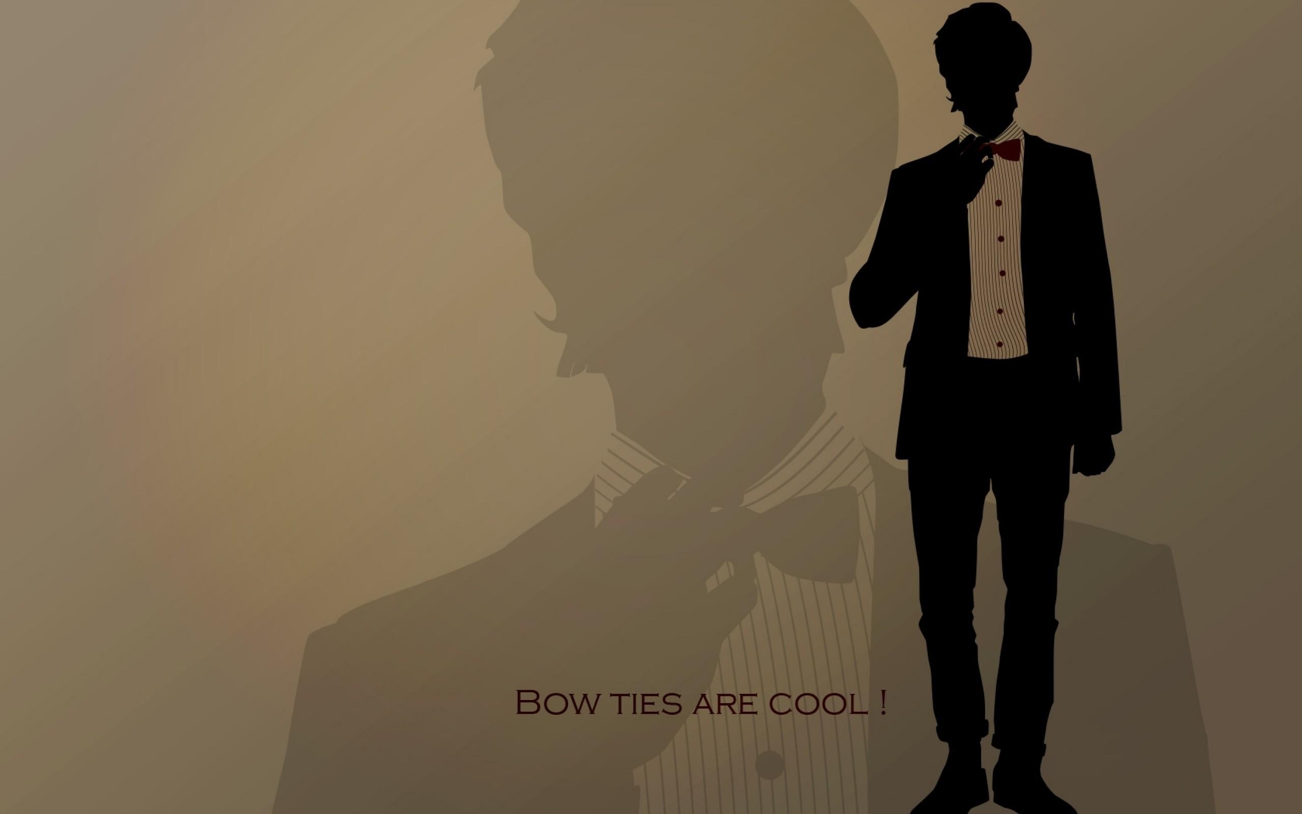 2560x1600 Eleventh Doctor Who Bowtie 1680x1050 Wallpaper Art HD