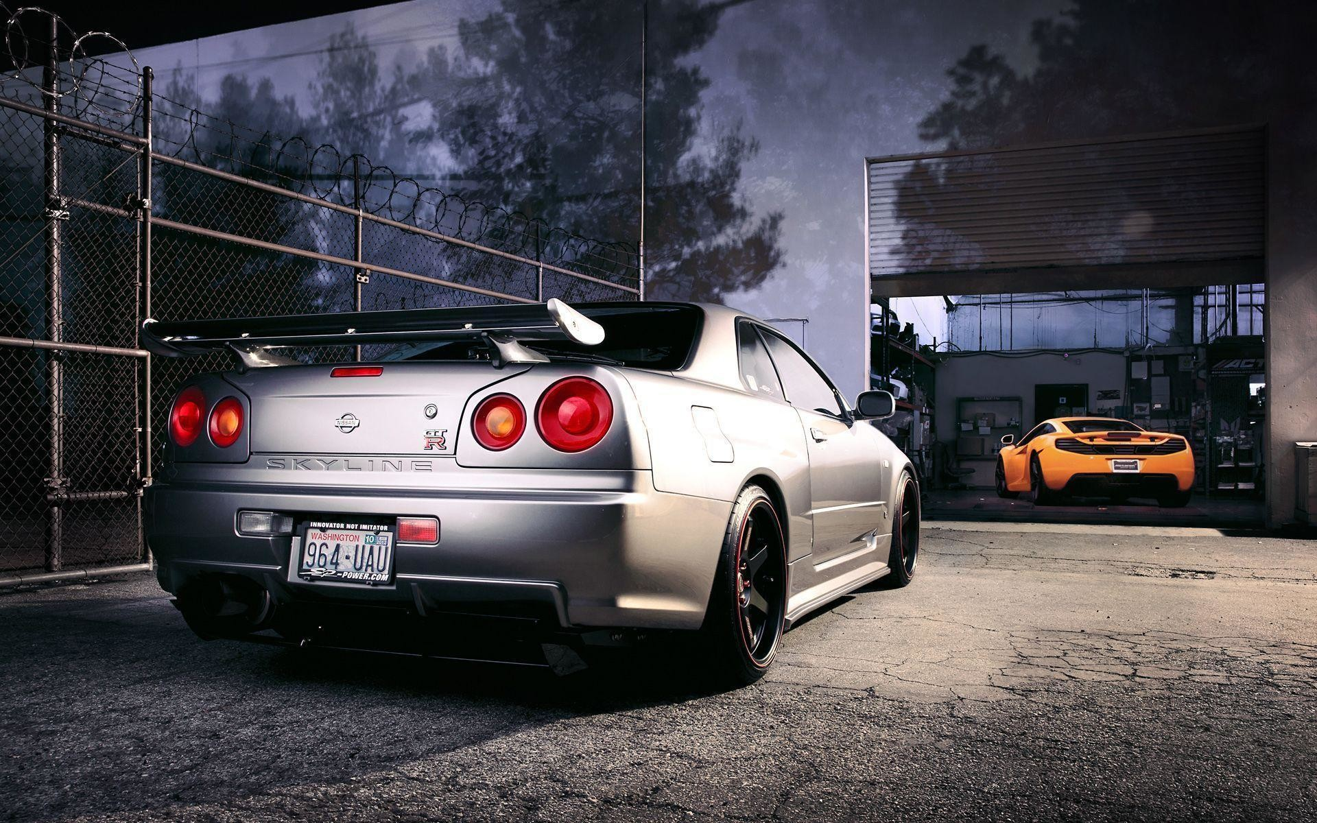 1920x1200 Nissan Skyline GTR R34 Wallpapers Group (89+)