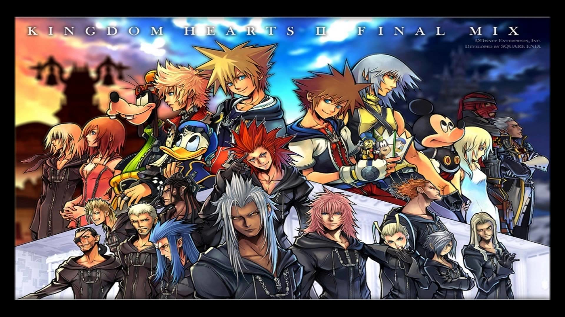 Kingdom Hearts 2 Final Mix Wallpaper (72+ images)