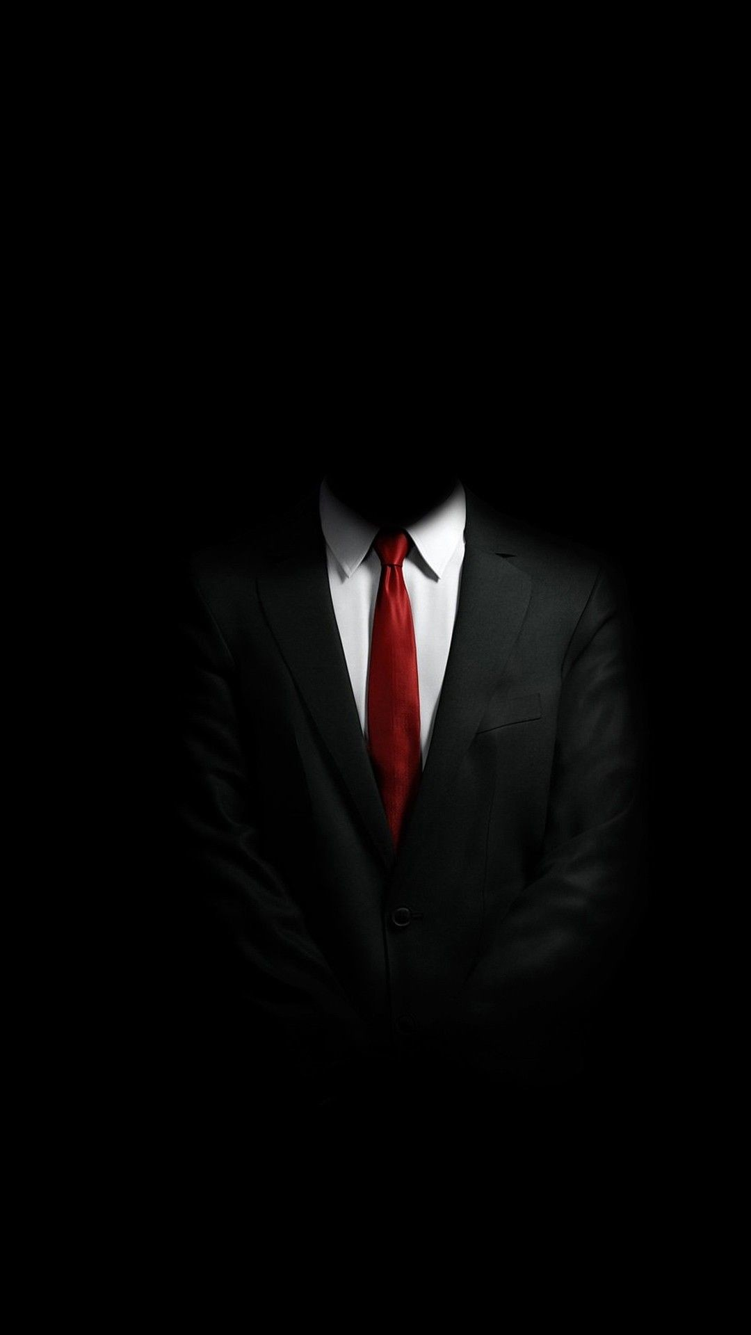 1080x1920 Mystery Man in Suit Smartphone Wallpaper and Lockscreen HD