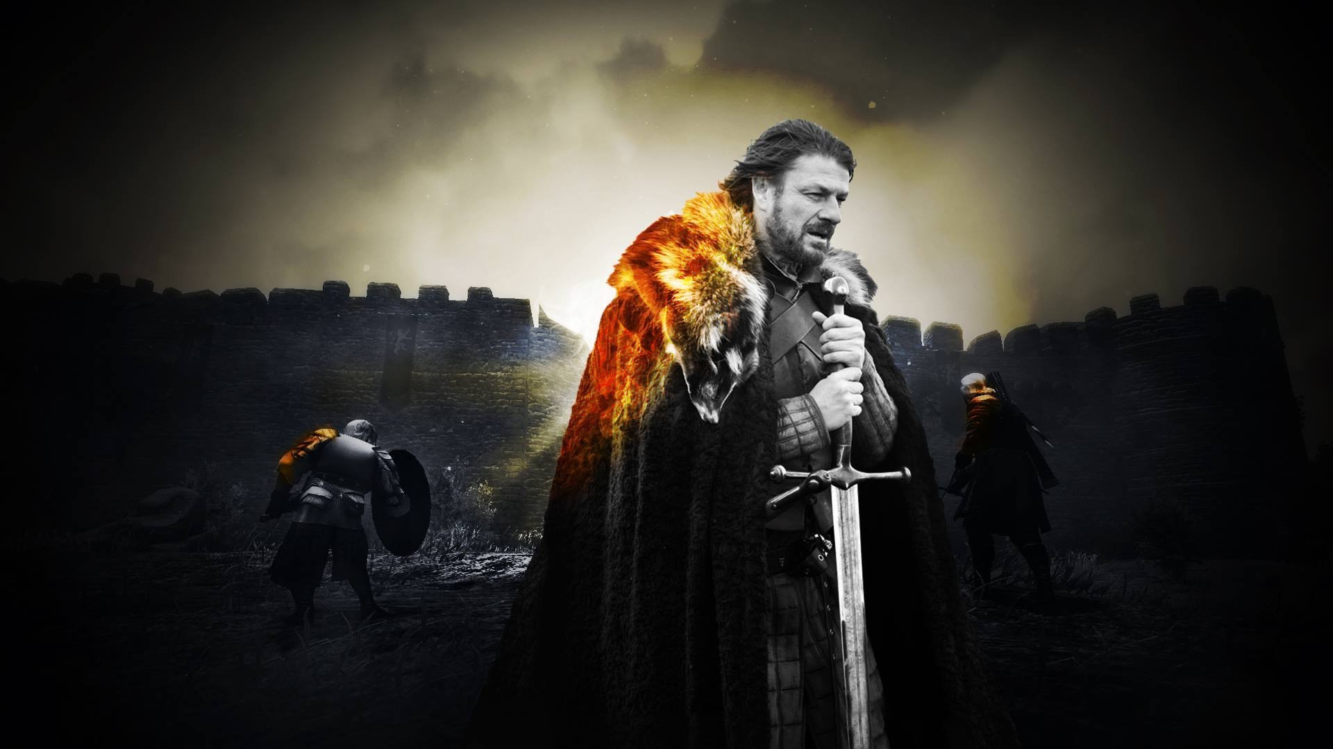 1920x1080 Game Of Thrones, Battlefield, Ned Stark, Medieval Wallpapers HD / Desktop  and Mobile Backgrounds