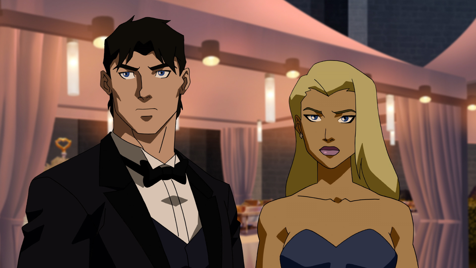 1920x1080 Nightwing and Tigress in Young Justice: Outsiders ep 2 (Credit: DC Universe)
