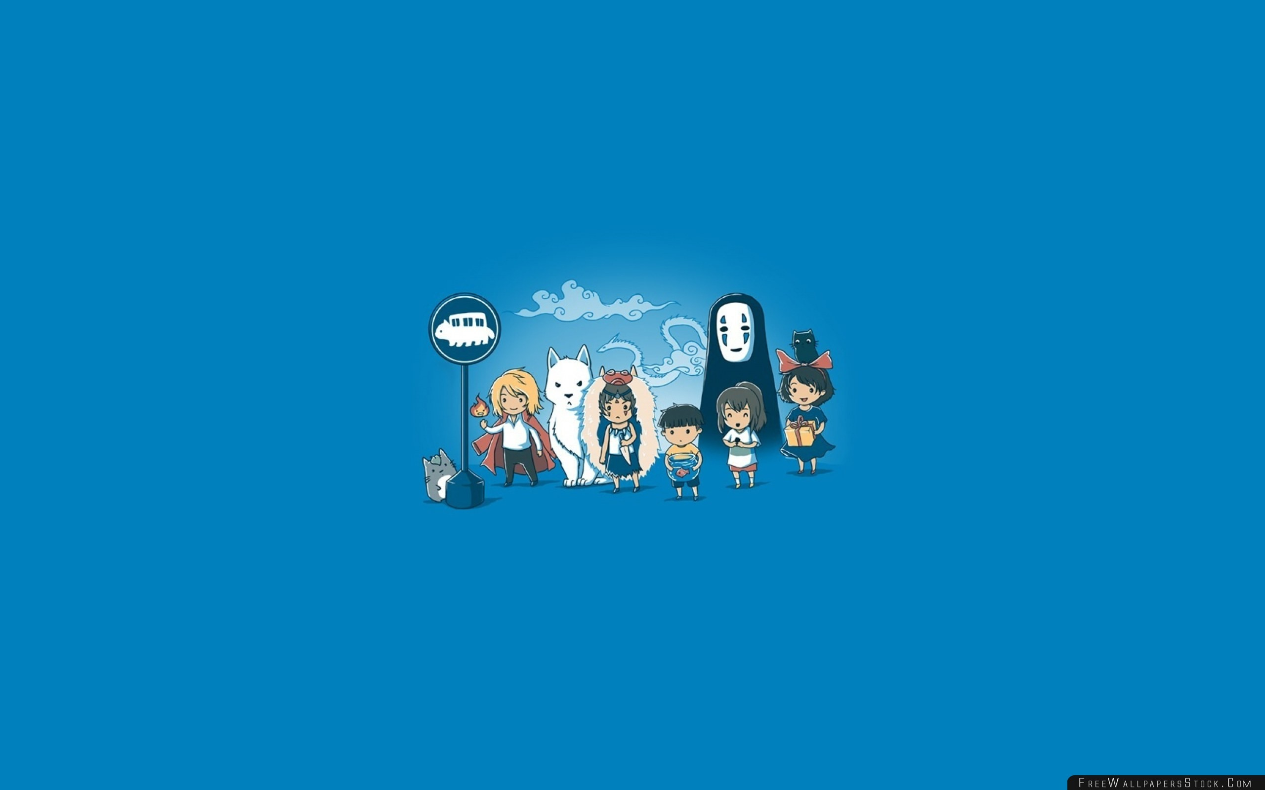 2560x1600 Download Free Wallpaper Howls Moving Castle Art Hayao Miyazaki Anime