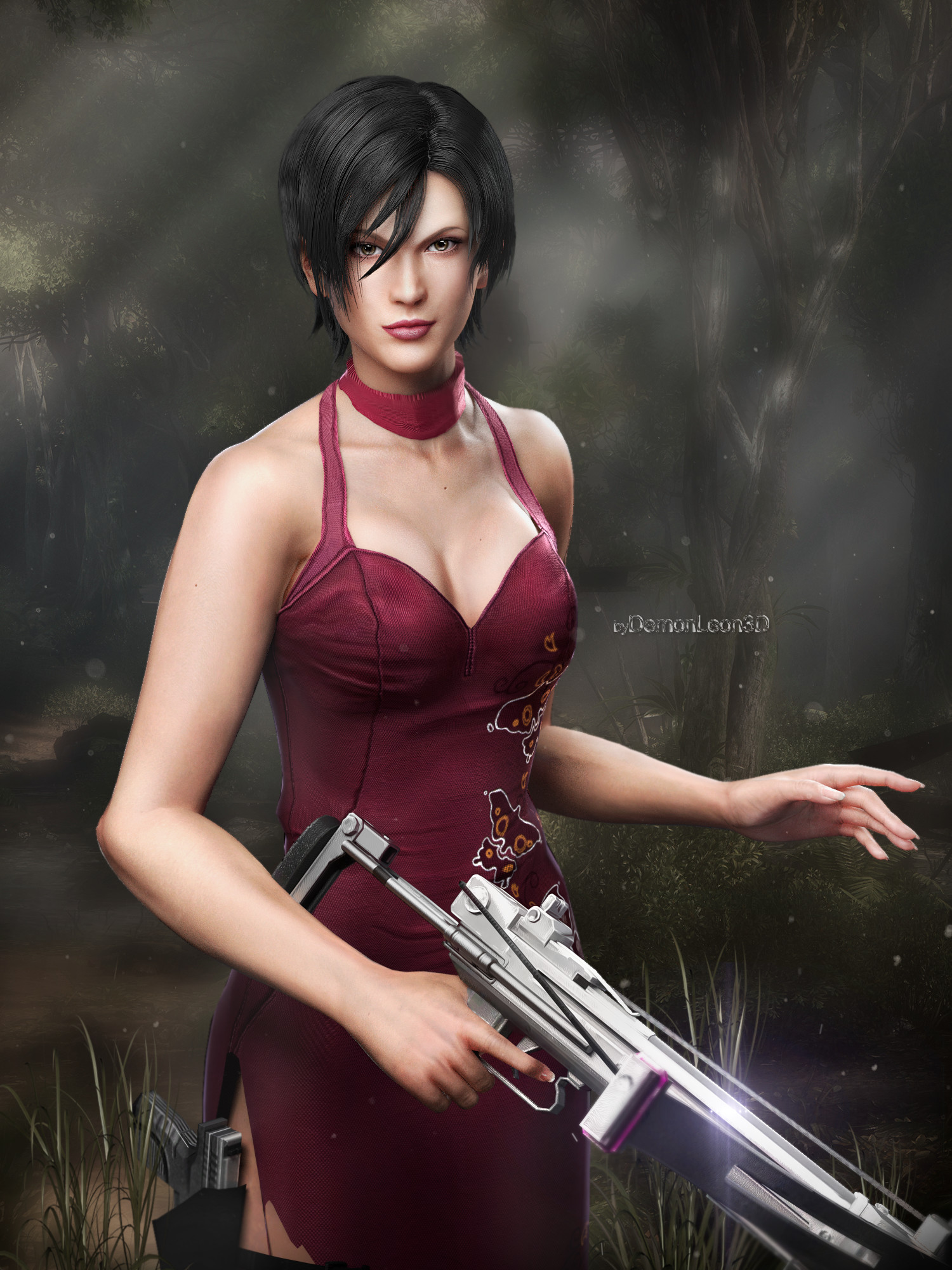 1500x2000 Ada Wong :icondemonleon3d: