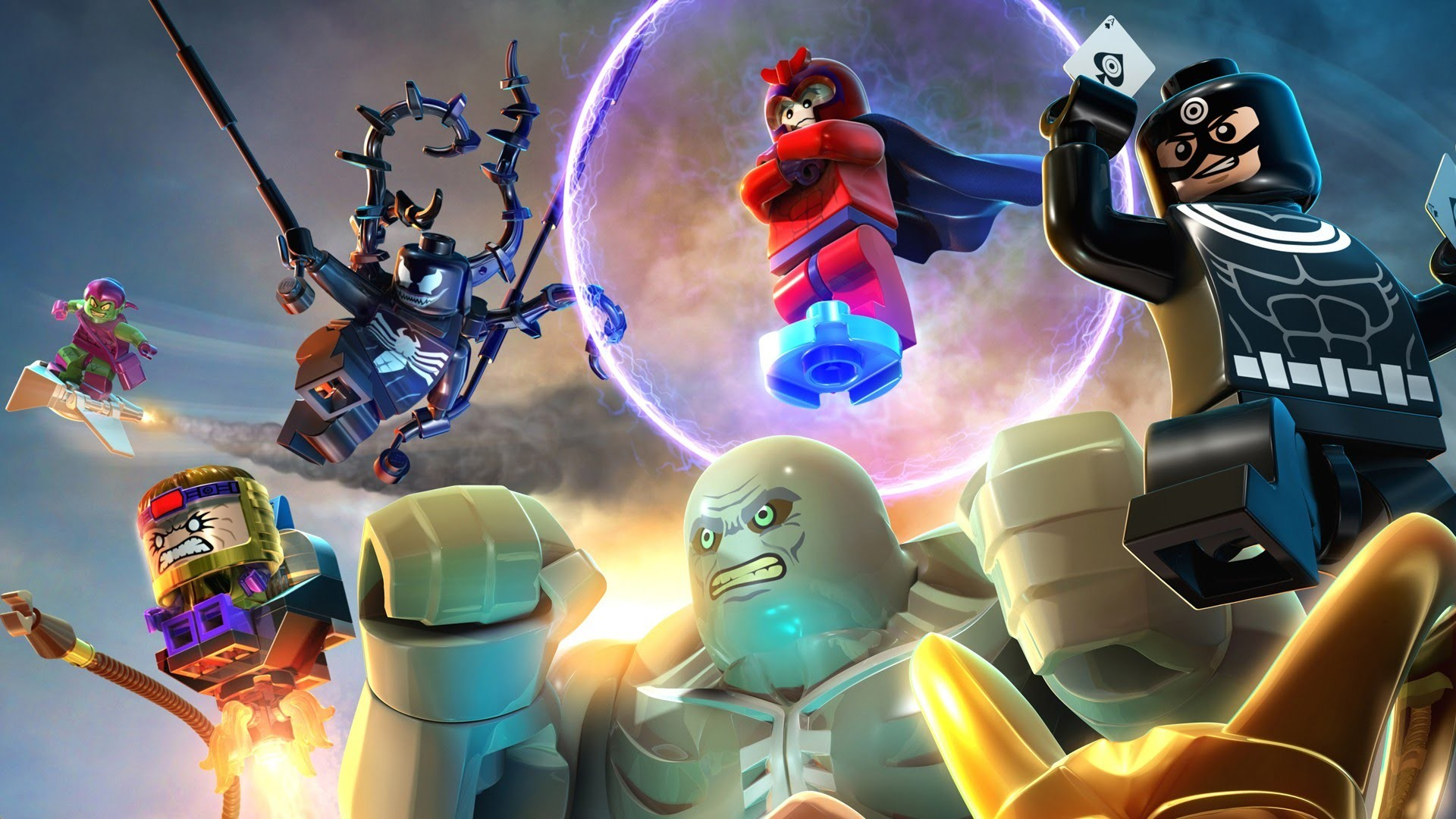 1920x1080 LEGO Marvel Super Heroes HD Wallpaper 15 - 1920 X 1080