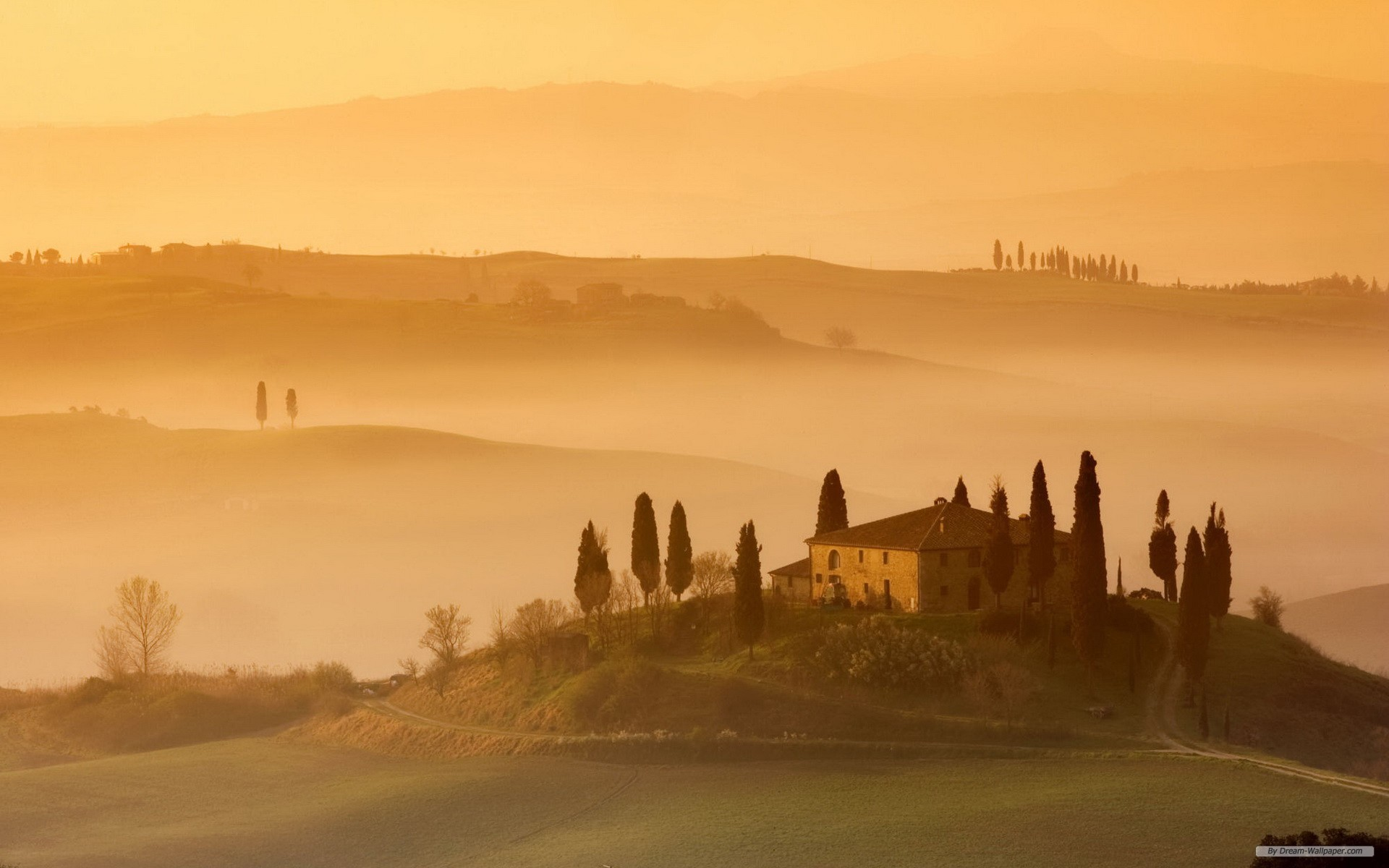 1920x1200 Free Nature wallpaper - Tuscany wallpaper -  wallpaper - Index 4