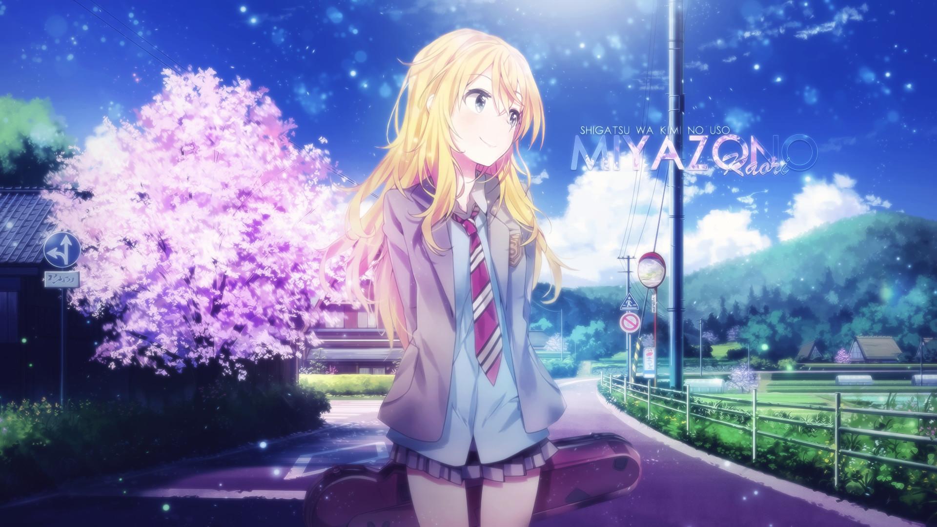 Anime Cherry Blossom Wallpaper 72 Images