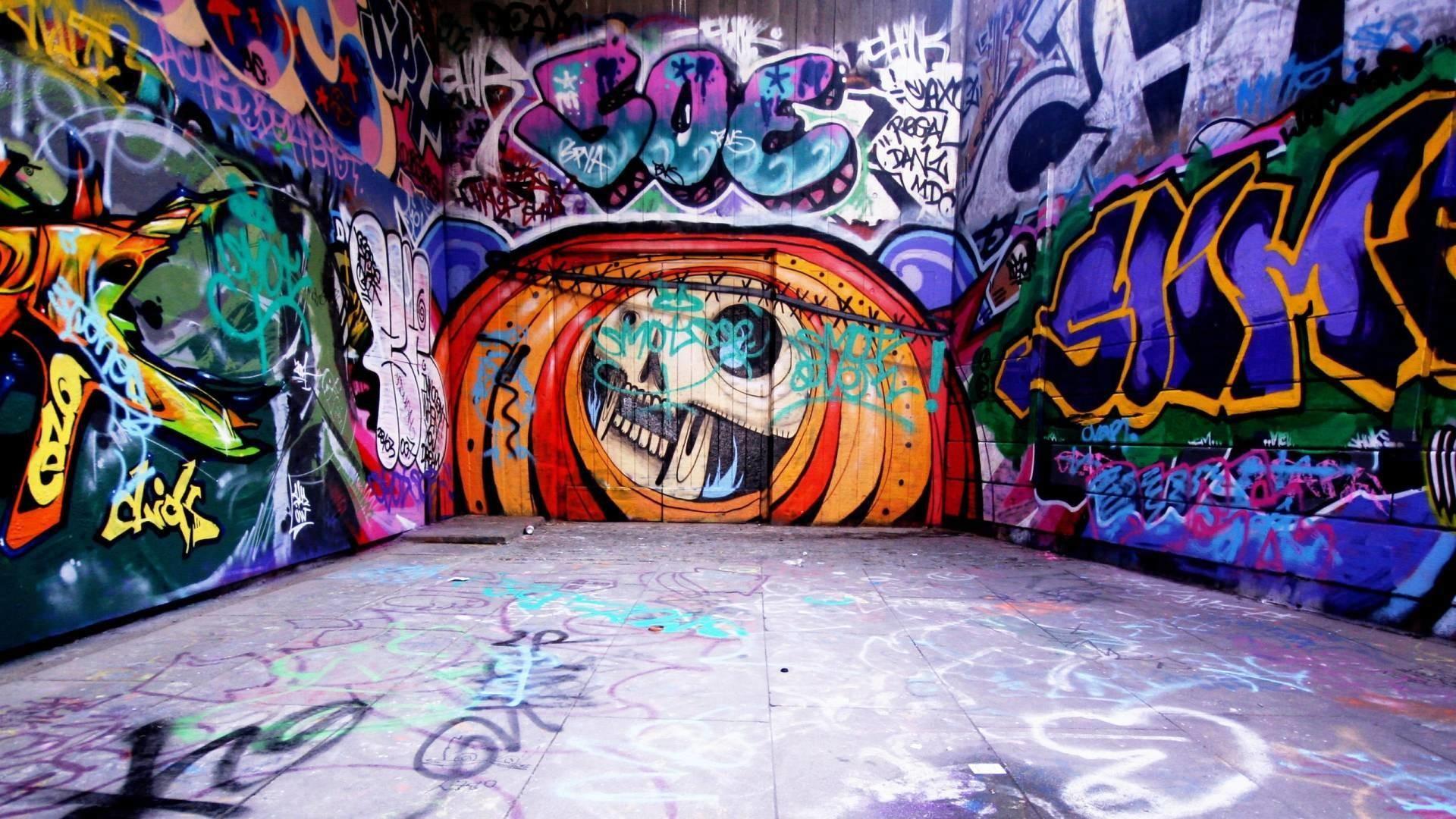Music graffiti wallpaper desktop